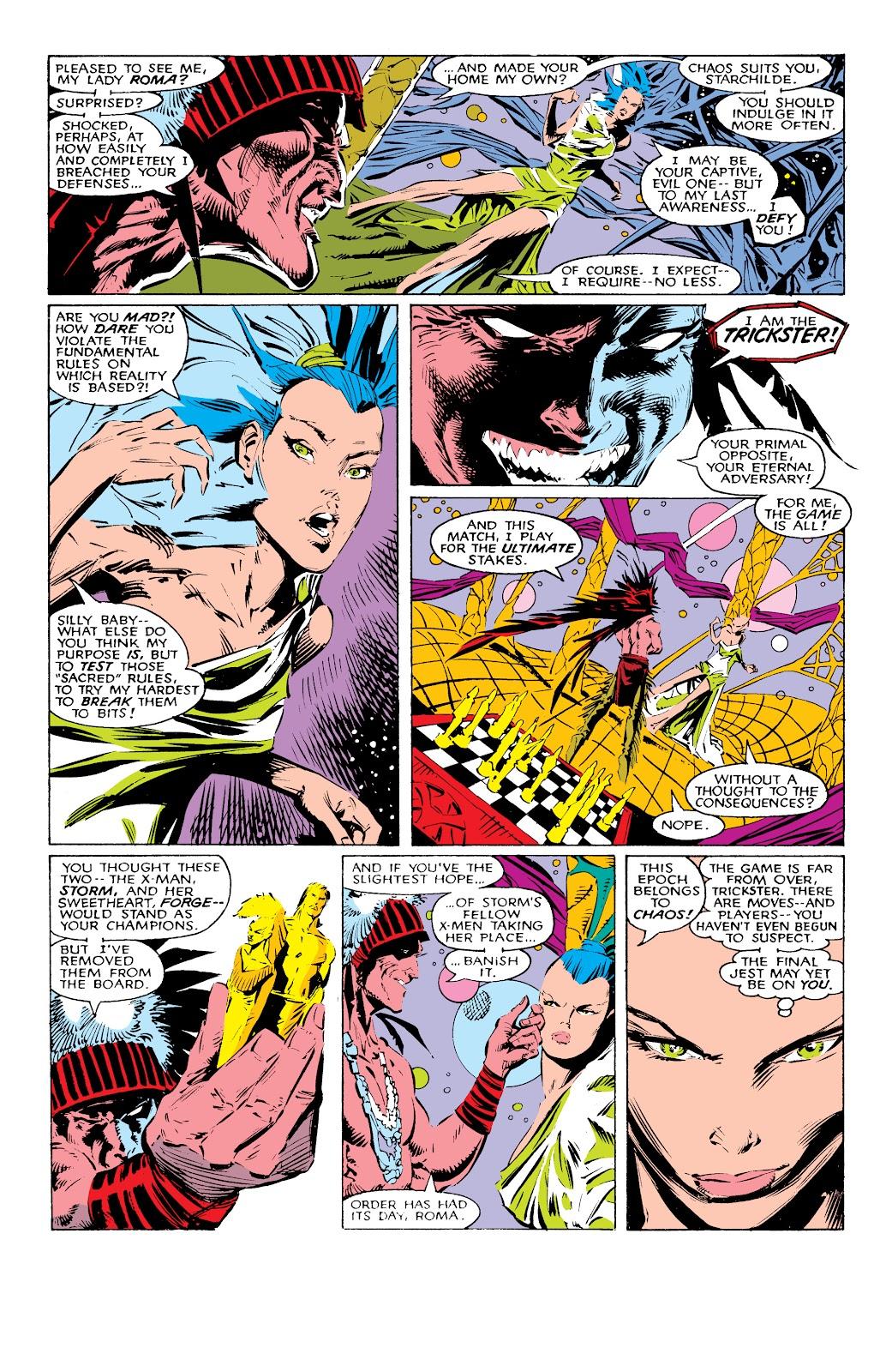 Read online X-Men Milestones: Fall of the Mutants comic -  Issue # TPB (Part 1) - 11