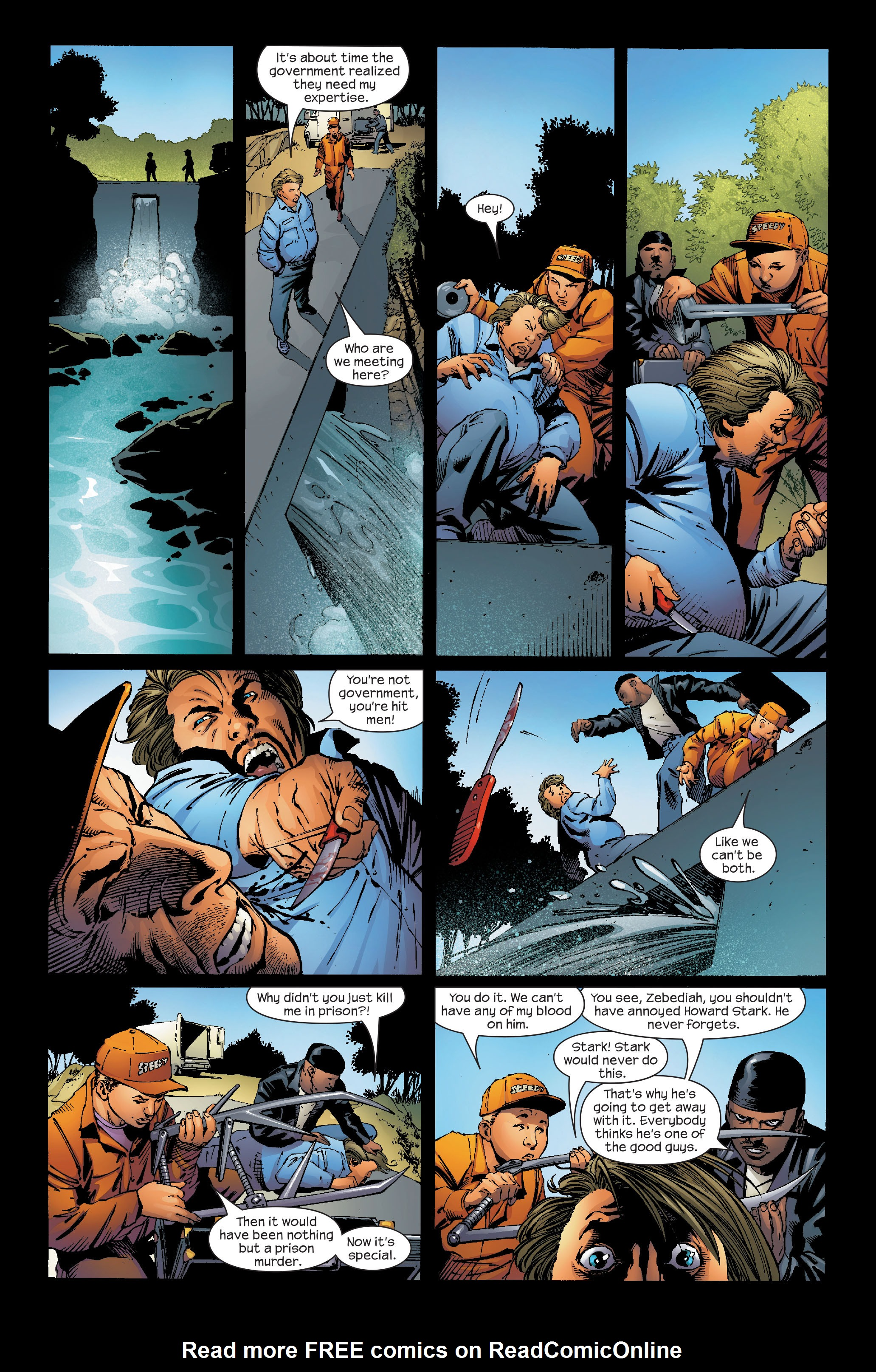 Read online Ultimate Iron Man (2005) comic -  Issue #5 - 9