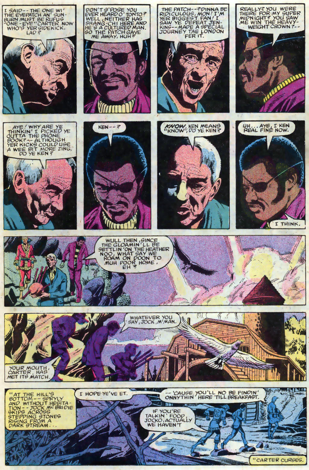 Read online Master of Kung Fu (1974) comic -  Issue #120 - 8