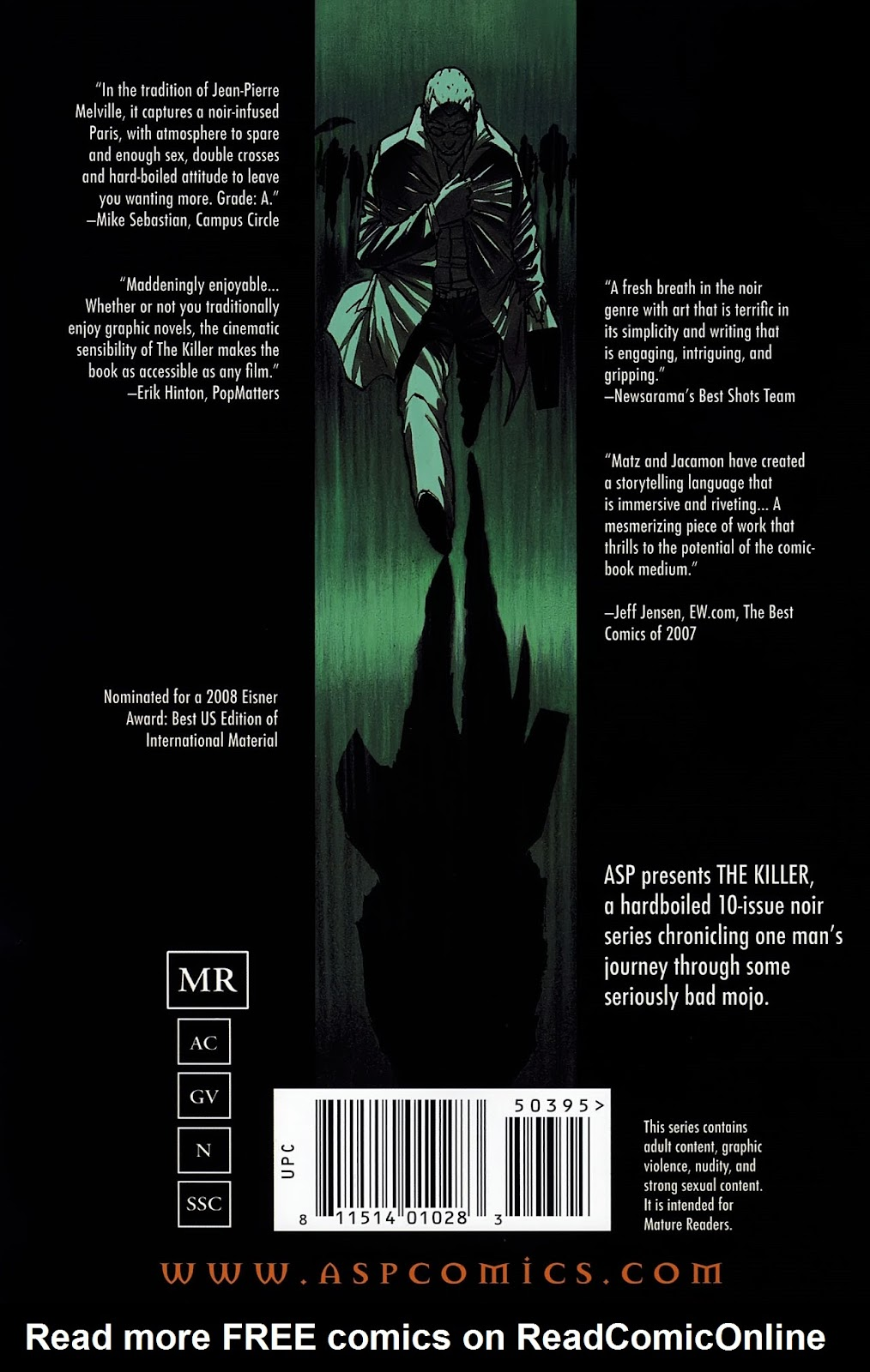 Read online The Killer comic -  Issue #8 - 30