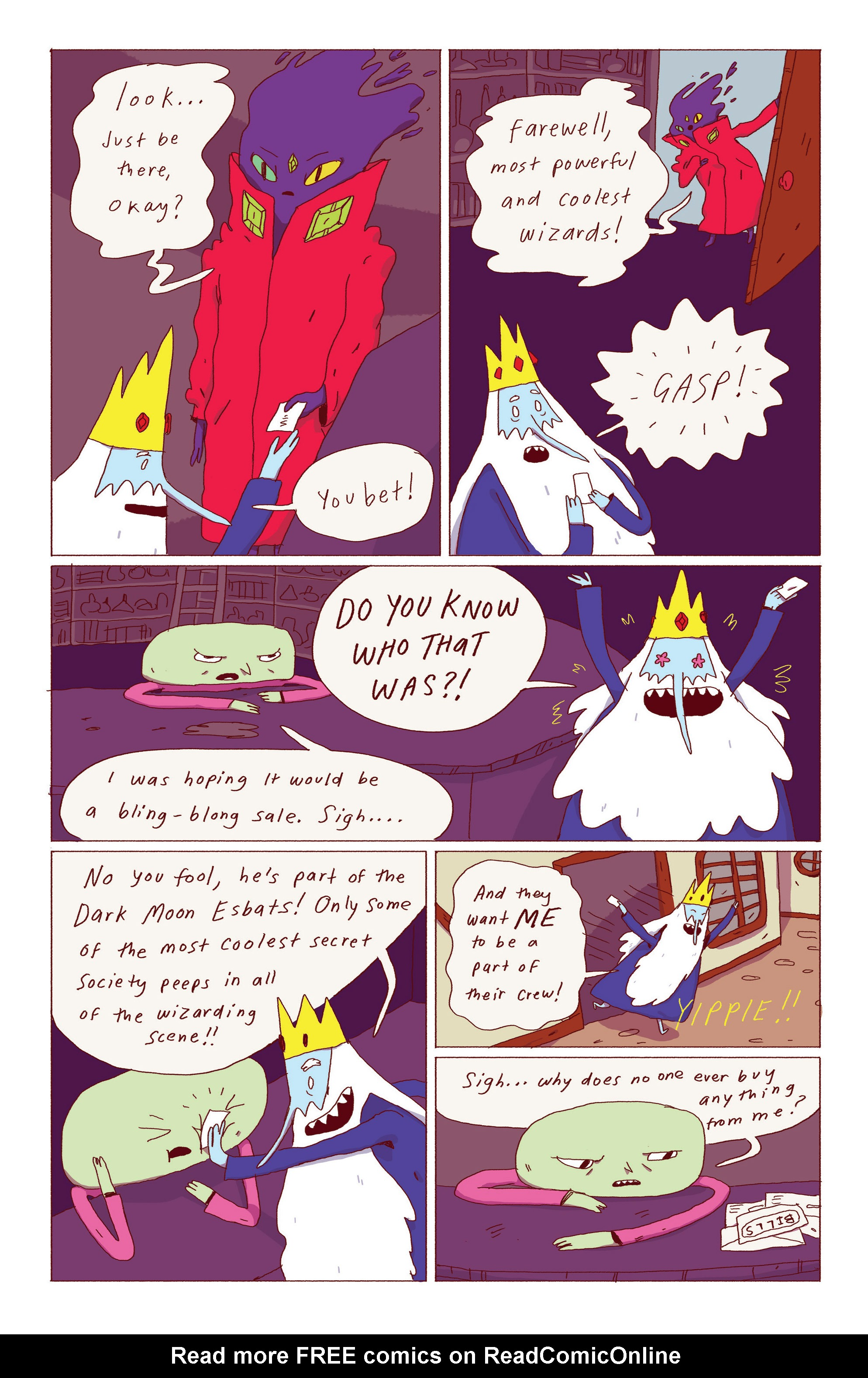 Read online Adventure Time: Ice King comic -  Issue #1 - 23