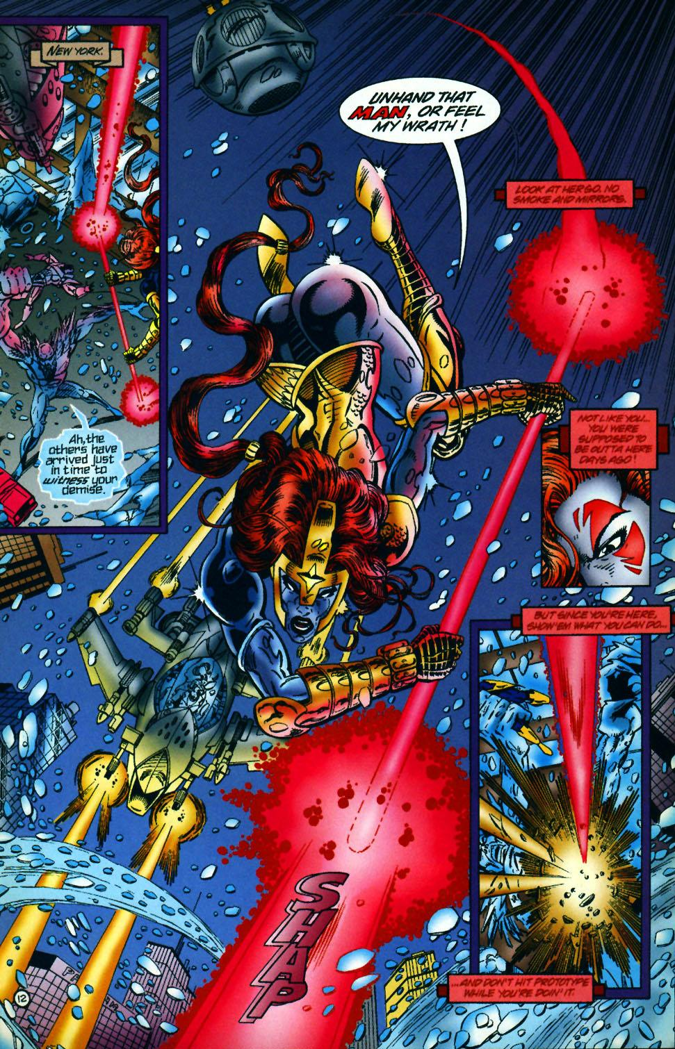 Read online UltraForce (1994) comic -  Issue #10 - 13