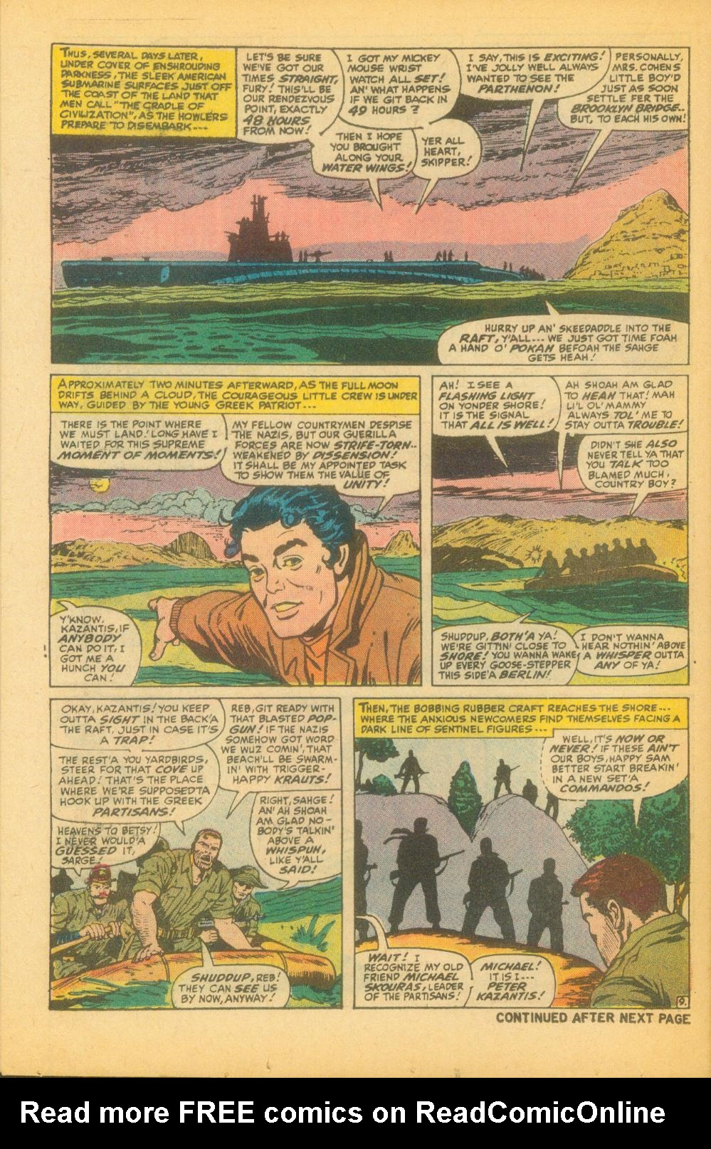 Read online Sgt. Fury comic -  Issue #99 - 14