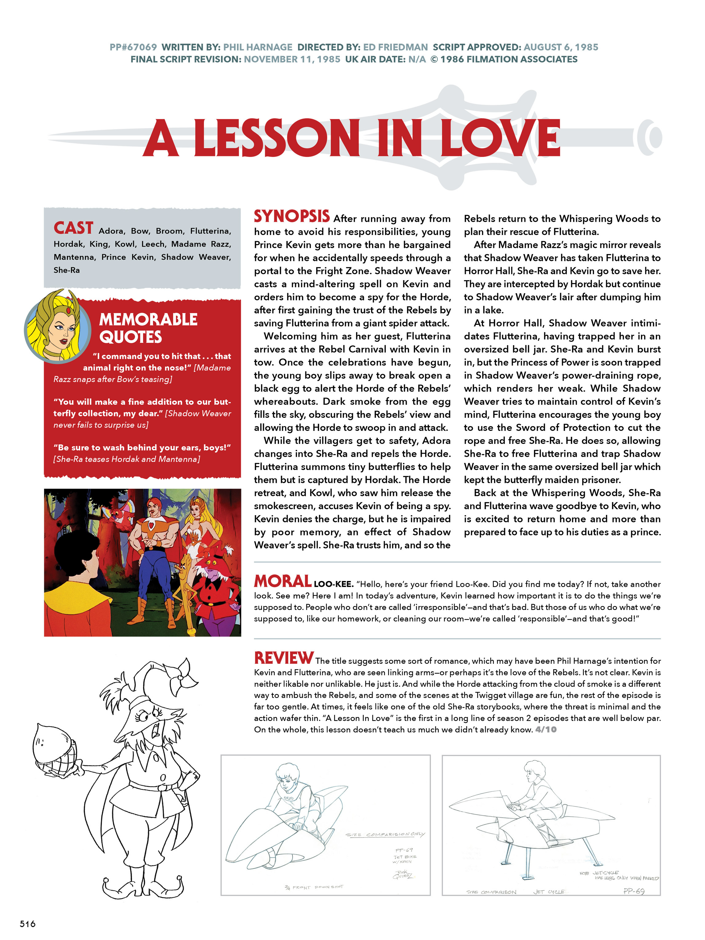 Read online He-Man and She-Ra: A Complete Guide to the Classic Animated Adventures comic -  Issue # TPB (Part 3) - 116