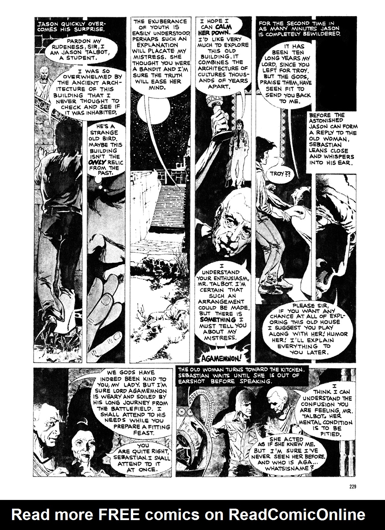 Read online Eerie Archives comic -  Issue # TPB 10 - 230