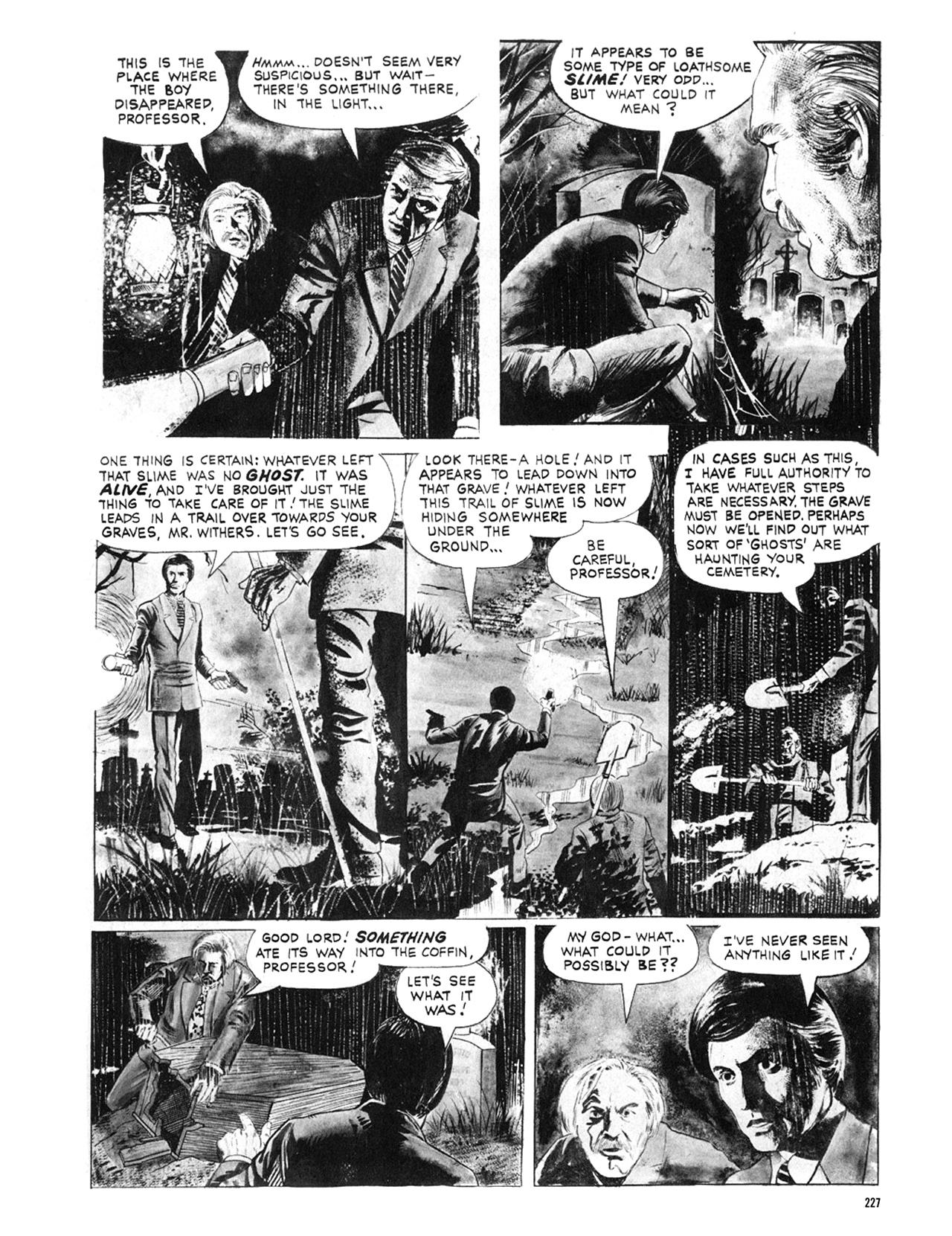 Read online Eerie Archives comic -  Issue # TPB 9 - 228