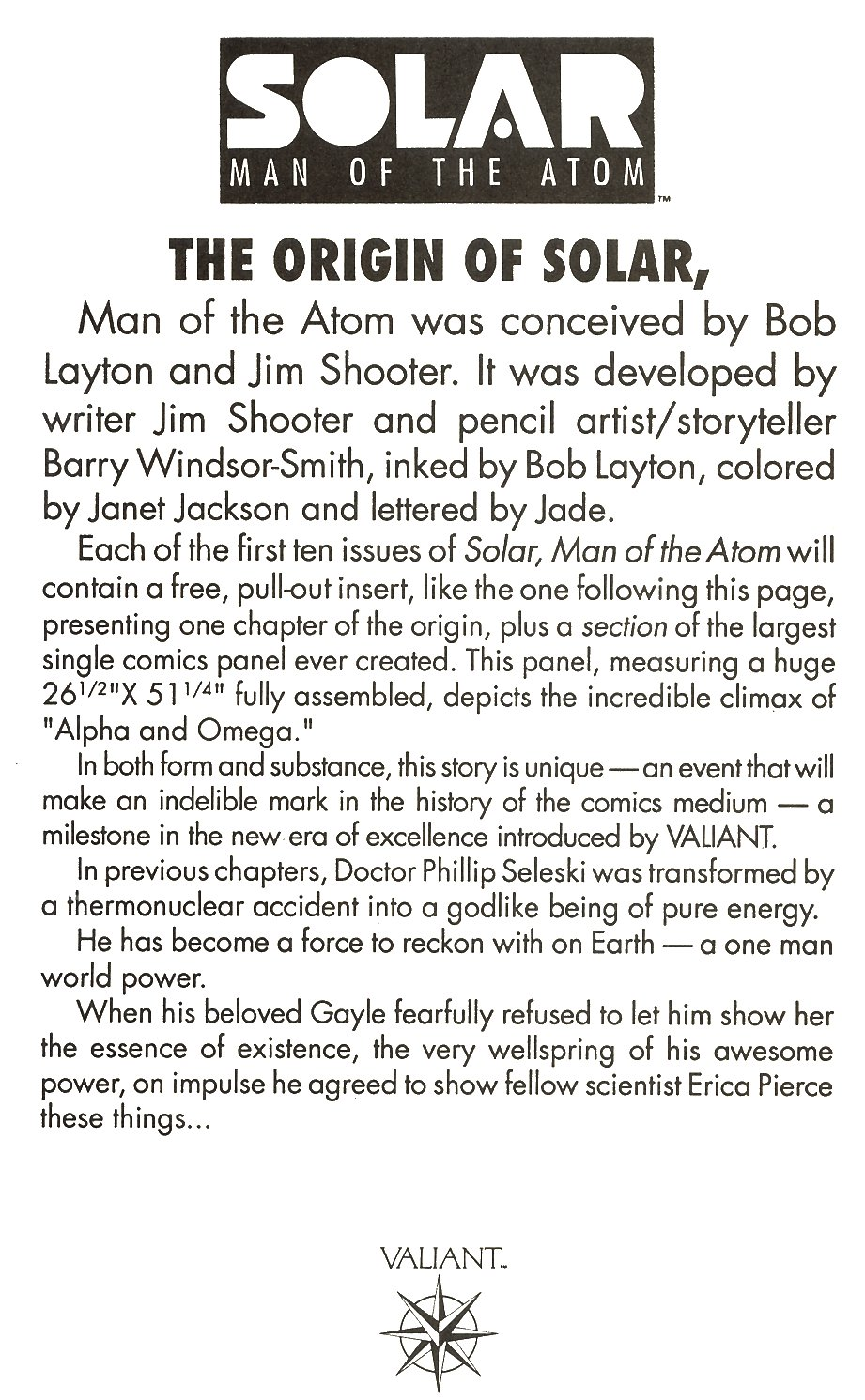 Read online Solar, Man of the Atom comic -  Issue #9 - 18