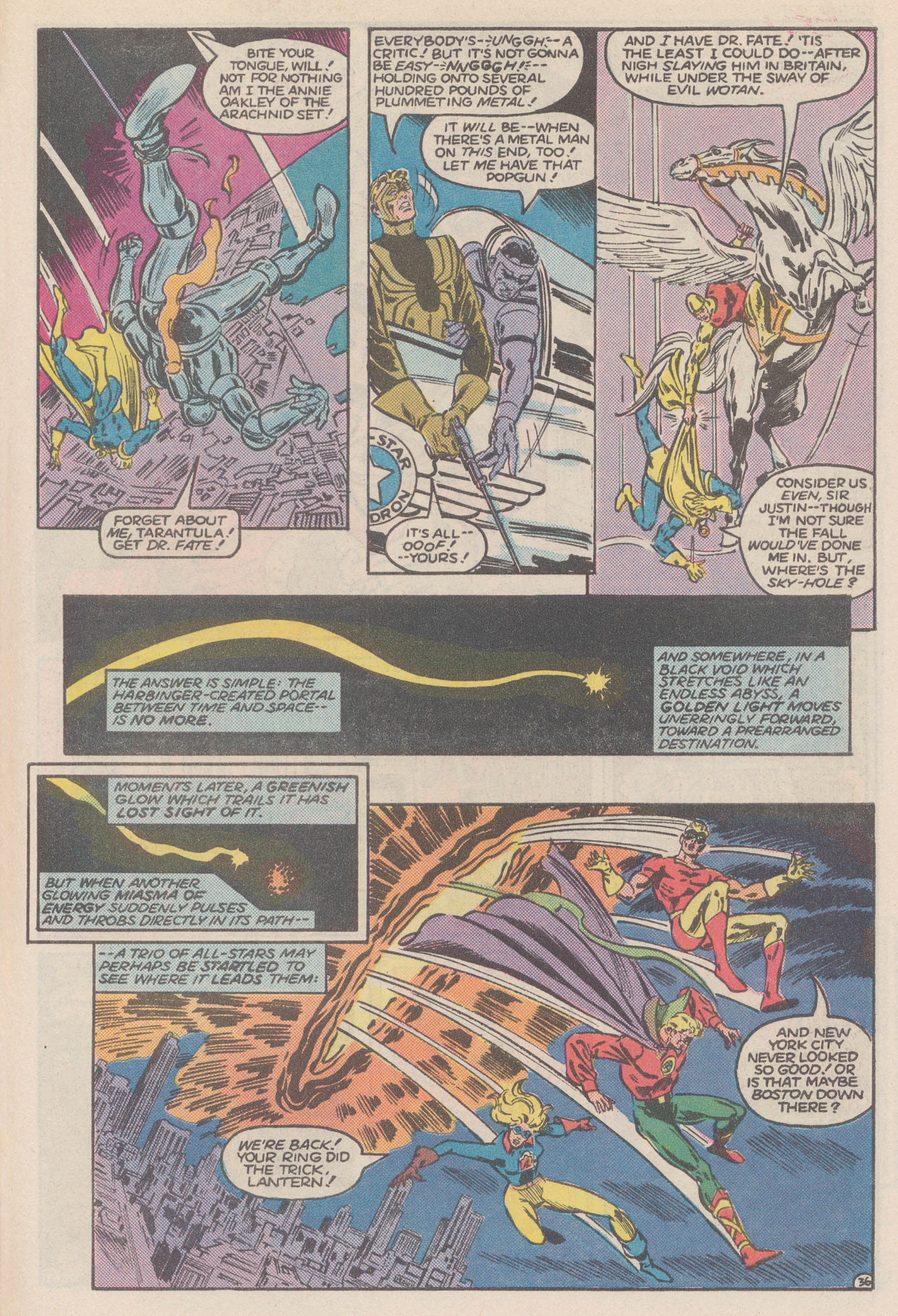 Read online All-Star Squadron comic -  Issue #50 - 42