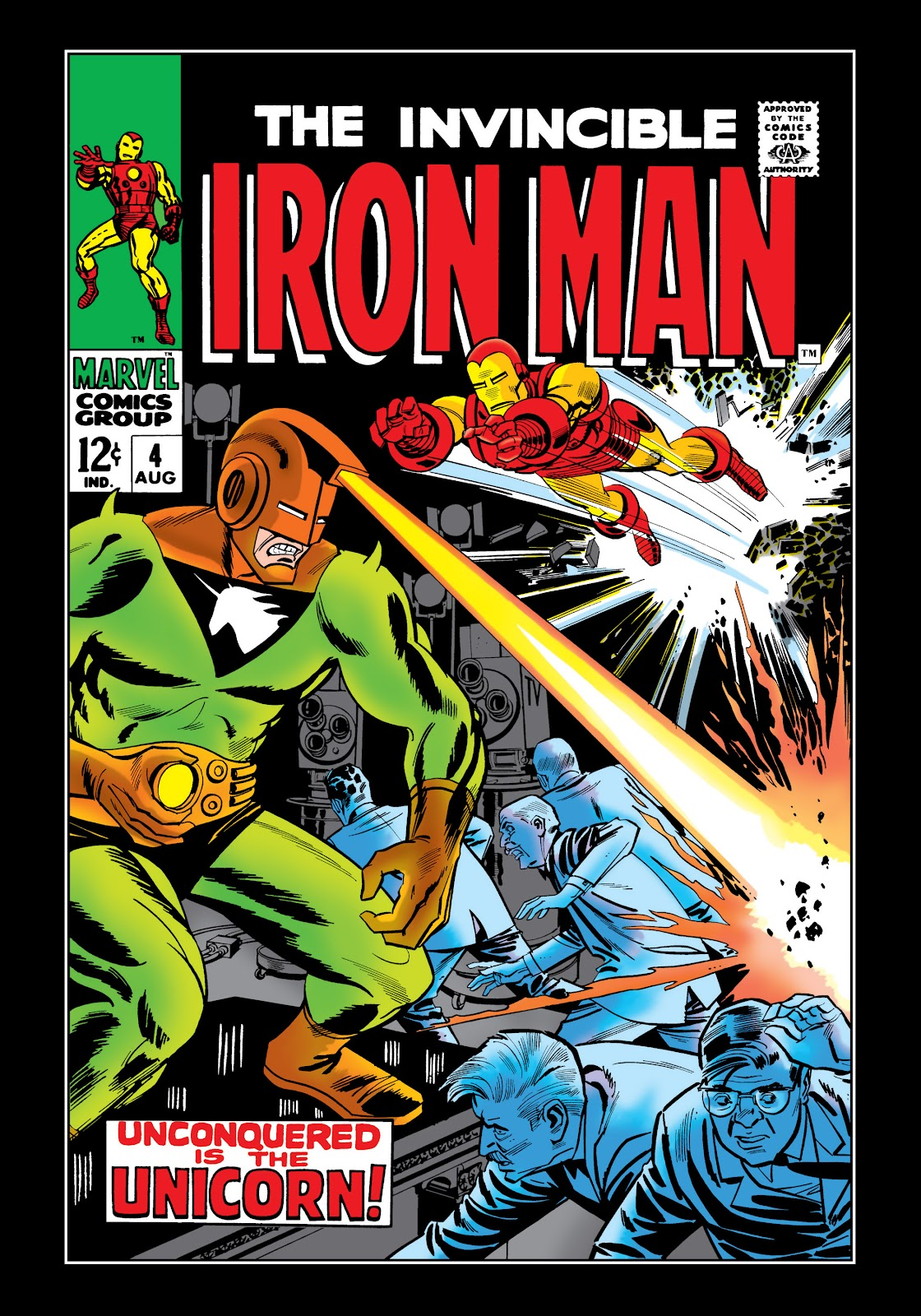 Read online Marvel Masterworks: The Invincible Iron Man comic -  Issue # TPB 5 (Part 1) - 49