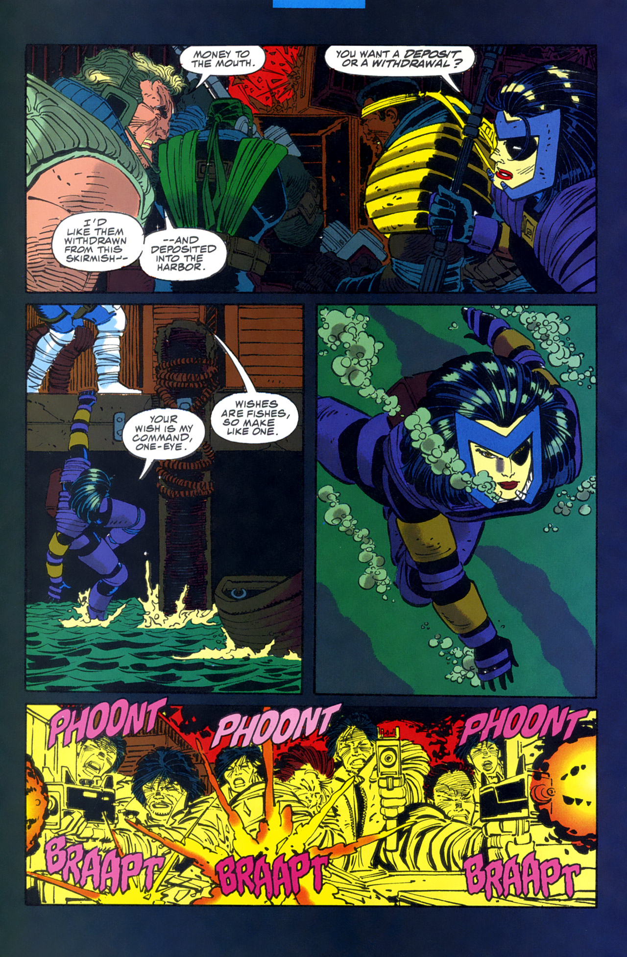 Read online Cable - Blood and Metal comic -  Issue #2 - 19