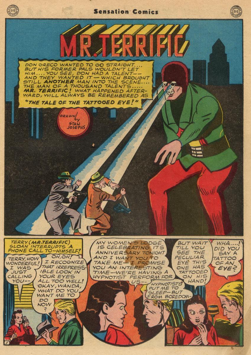Read online Sensation (Mystery) Comics comic -  Issue #49 - 23