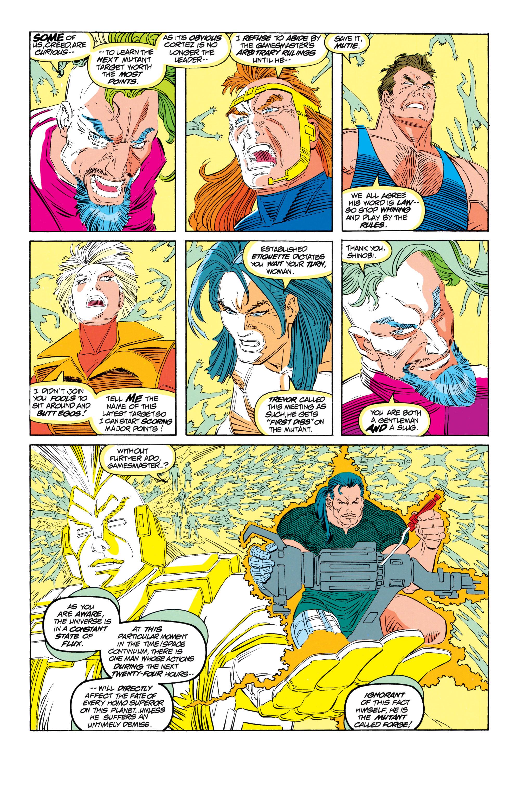 Read online Uncanny X-Men (1963) comic -  Issue #301 - 6