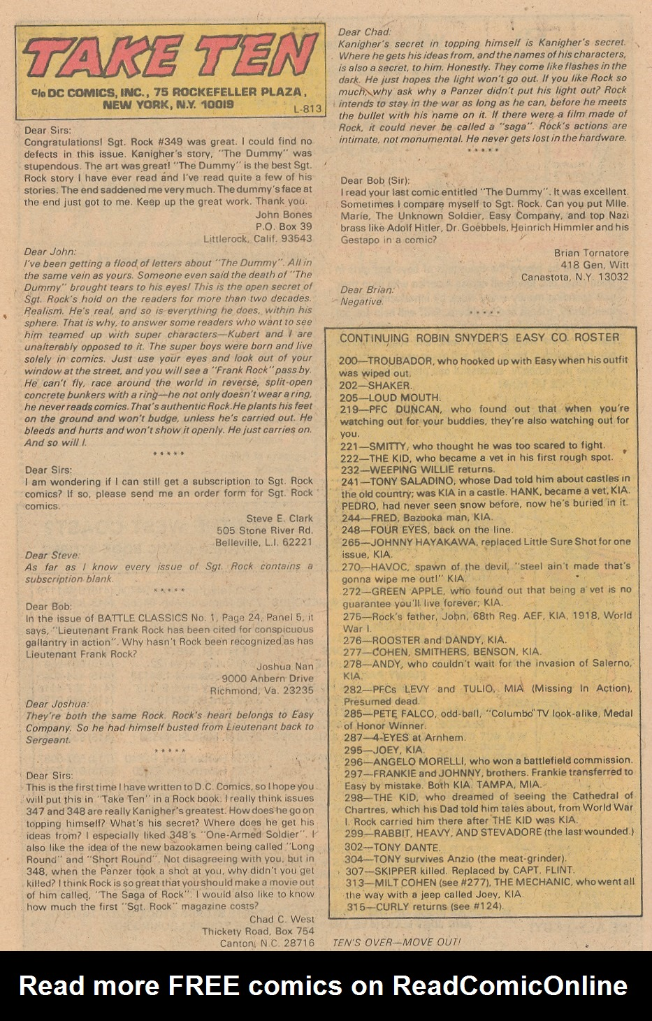 Read online Sgt. Rock comic -  Issue #355 - 23