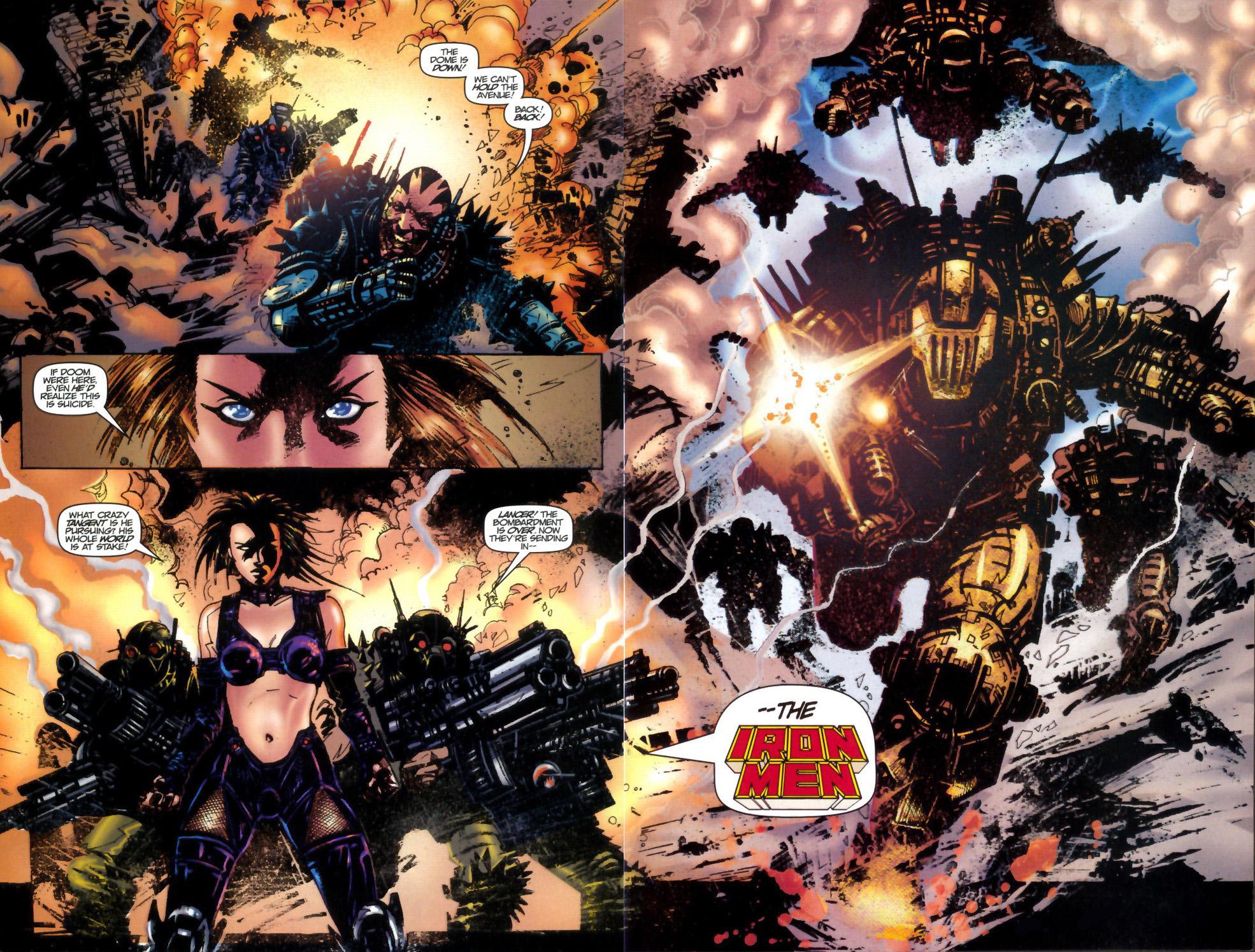 Read online Doom: The Emperor Returns comic -  Issue #2 - 12