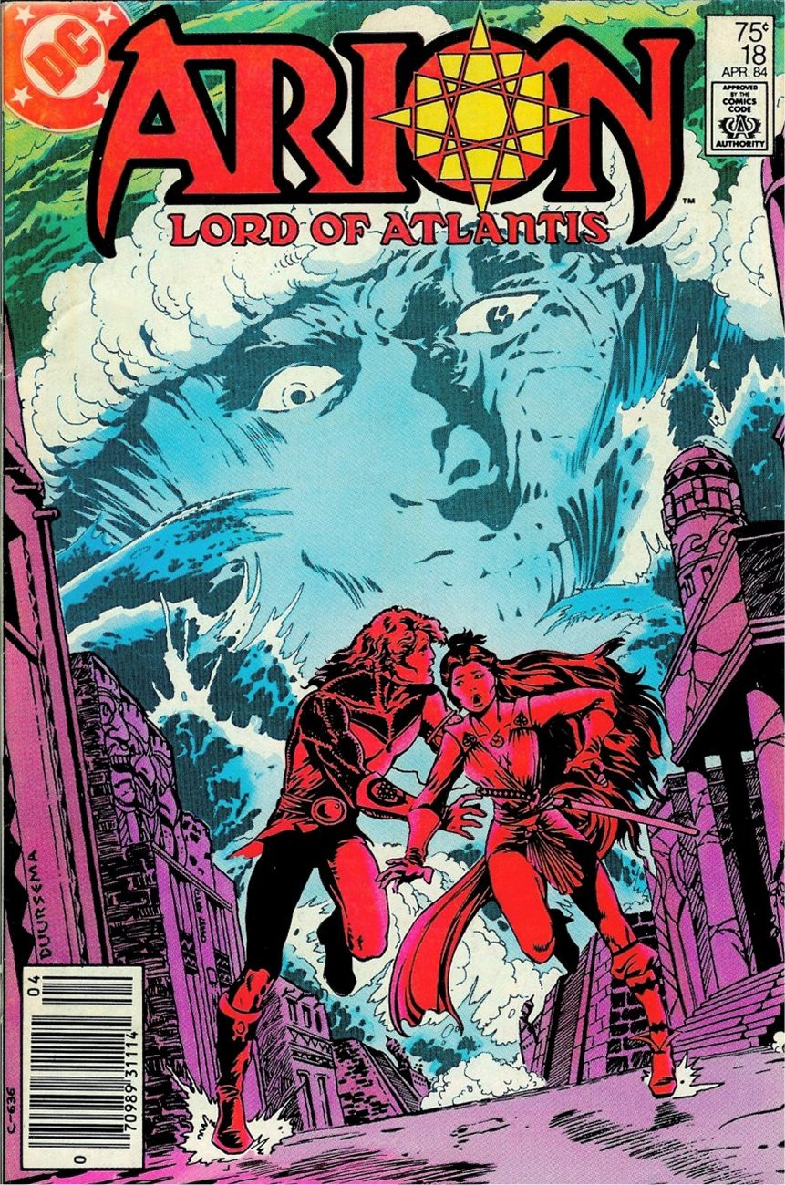 Read online Arion, Lord of Atlantis comic -  Issue #18 - 1
