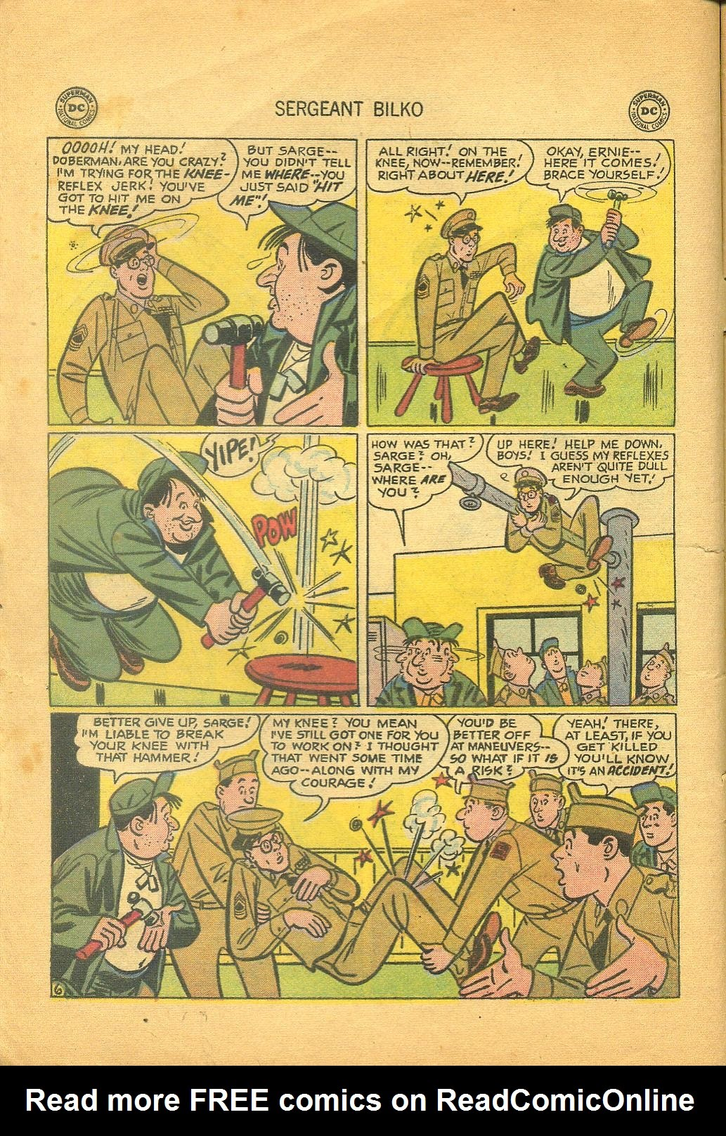 Sergeant Bilko issue 1 - Page 8