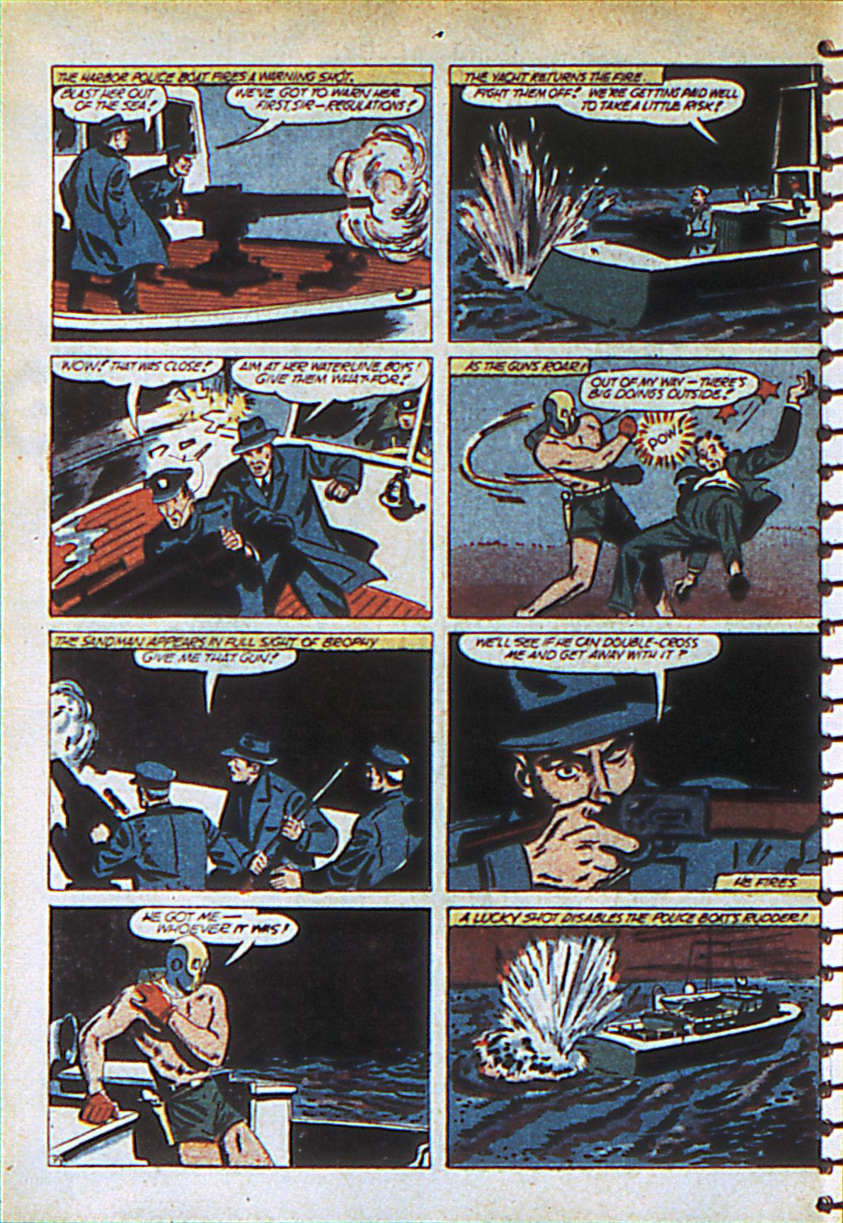Read online Adventure Comics (1938) comic -  Issue #55 - 63