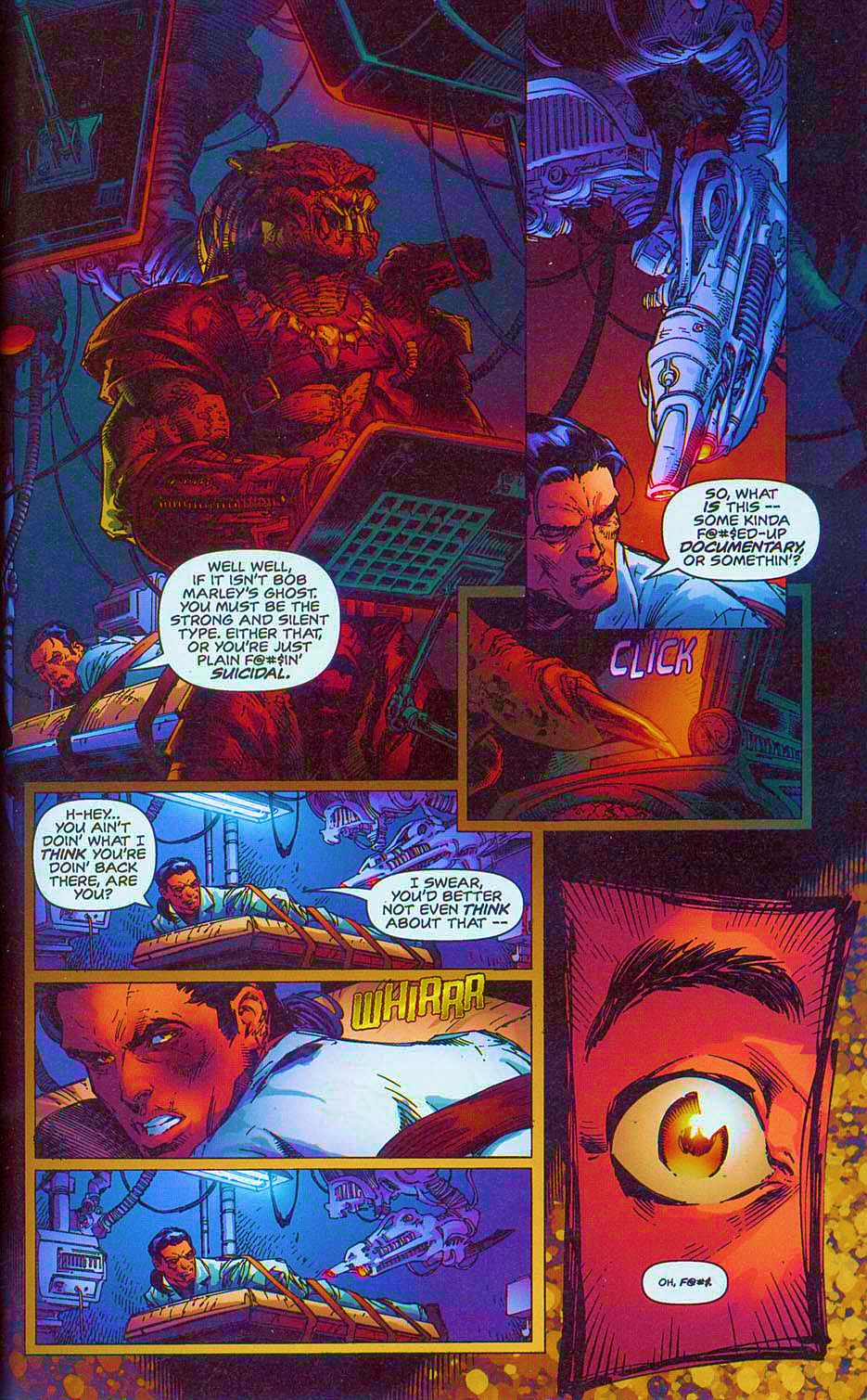 Read online Overkill: Witchblade/Aliens/Darkness/Predator comic -  Issue #2 - 20
