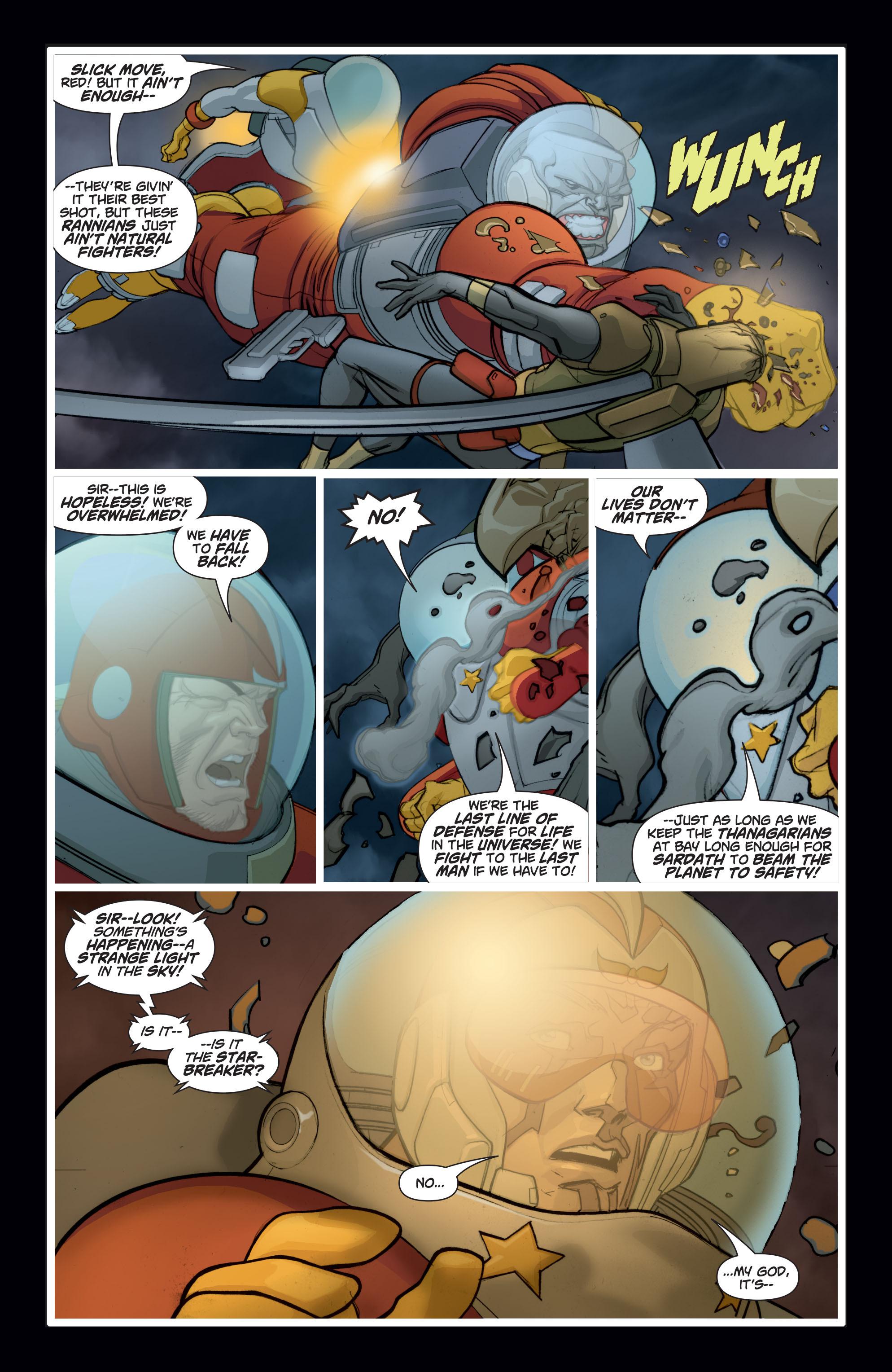 Read online Adam Strange (2004) comic -  Issue #8 - 4