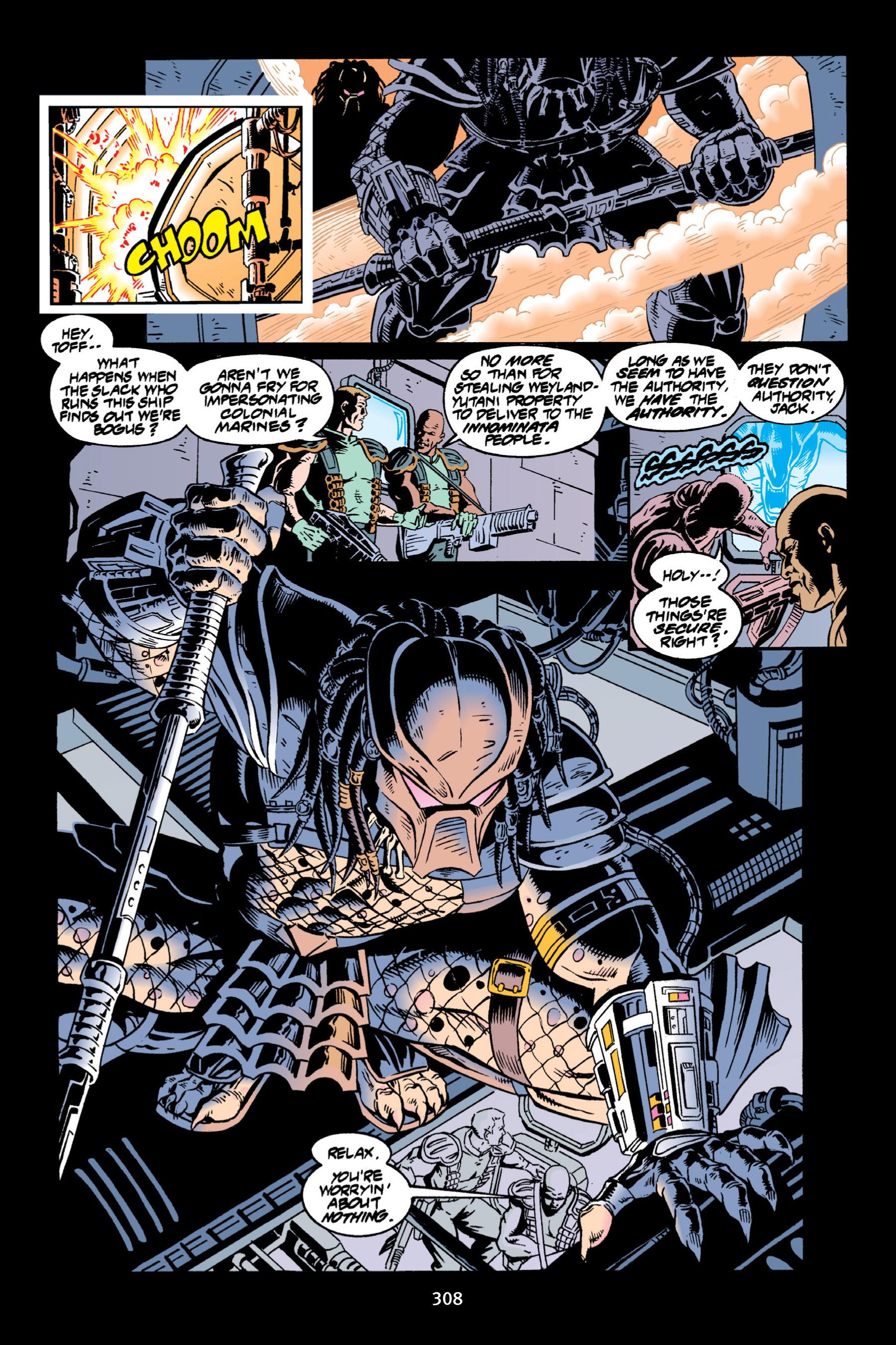 Read online Aliens vs. Predator Omnibus comic -  Issue # _TPB 2 Part 3 - 83