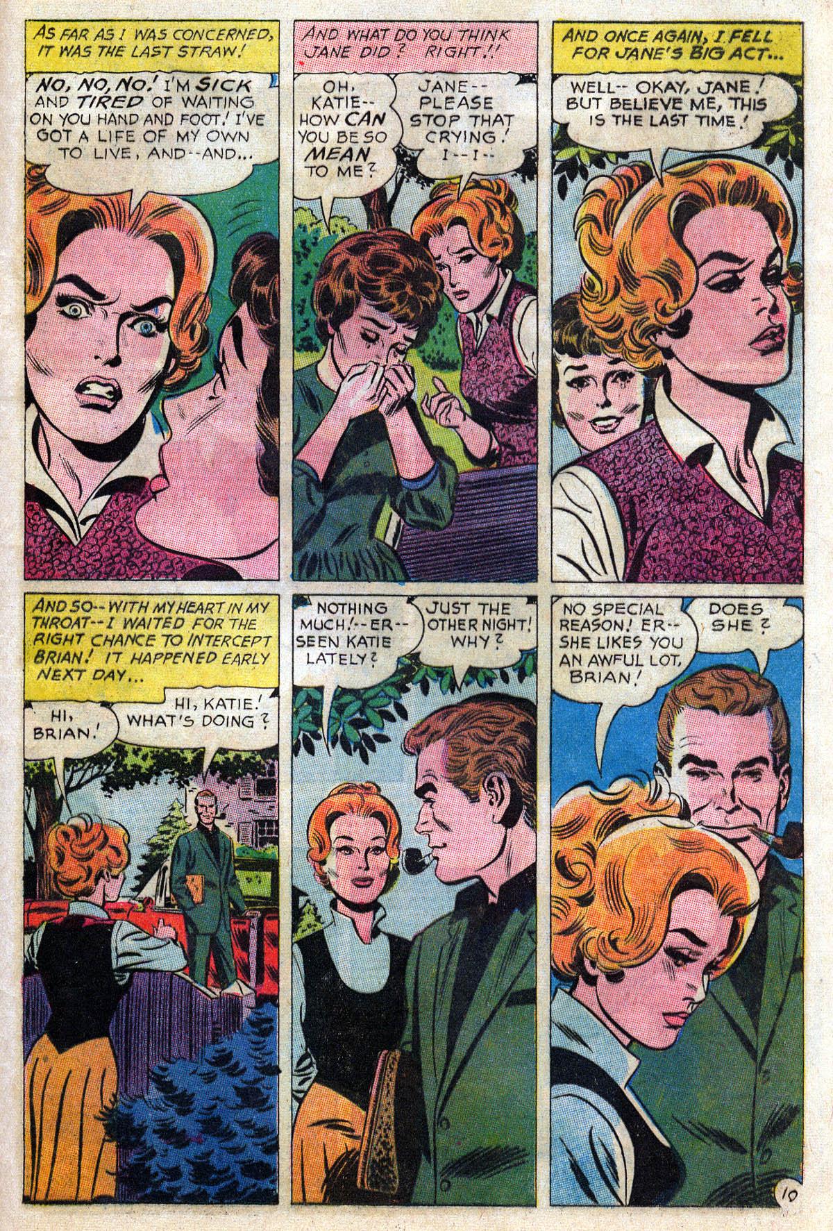 Read online Secret Hearts comic -  Issue #109 - 32