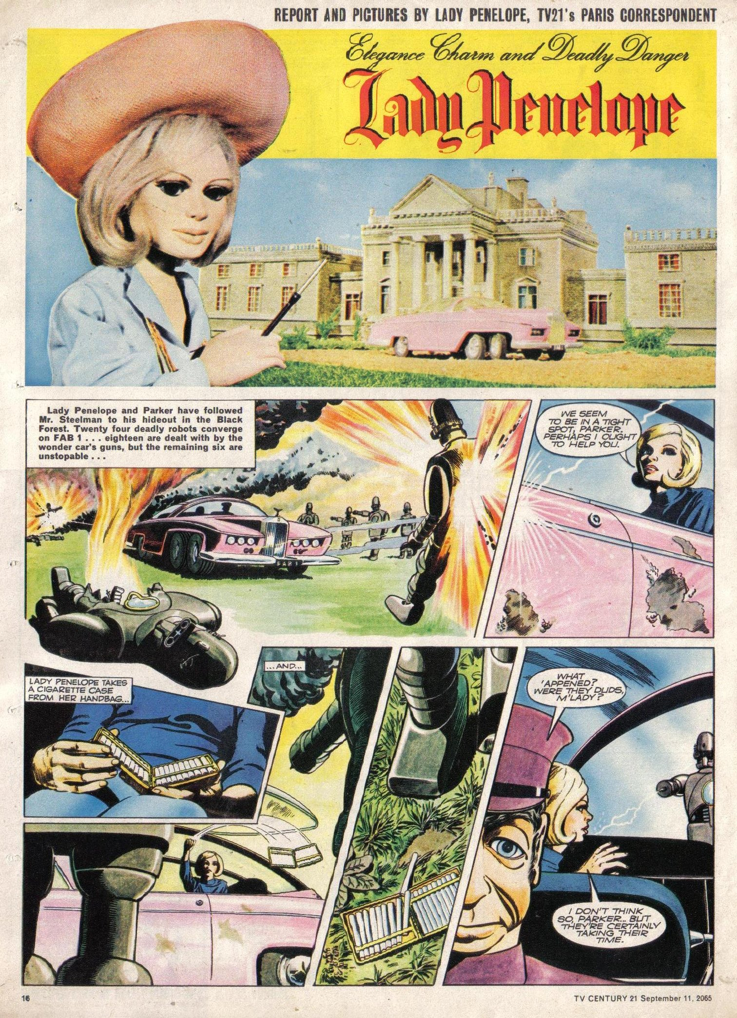 Read online TV Century 21 (TV 21) comic -  Issue #34 - 15