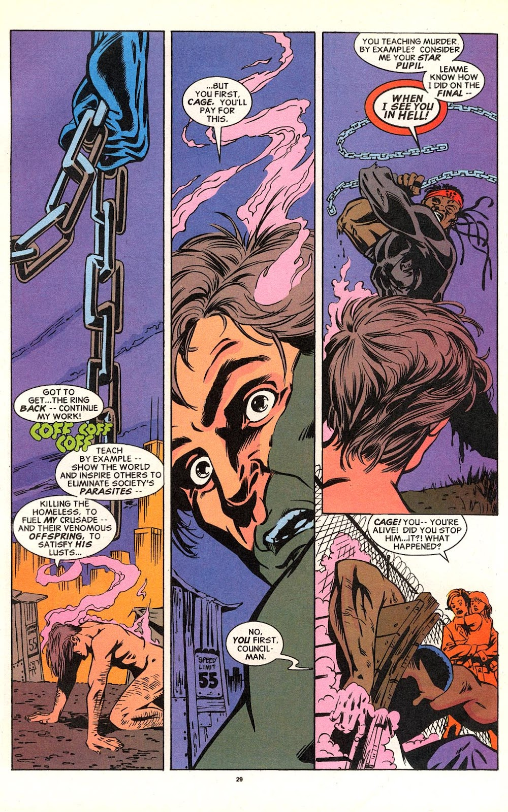 Cage (1992) issue 18 - Page 22