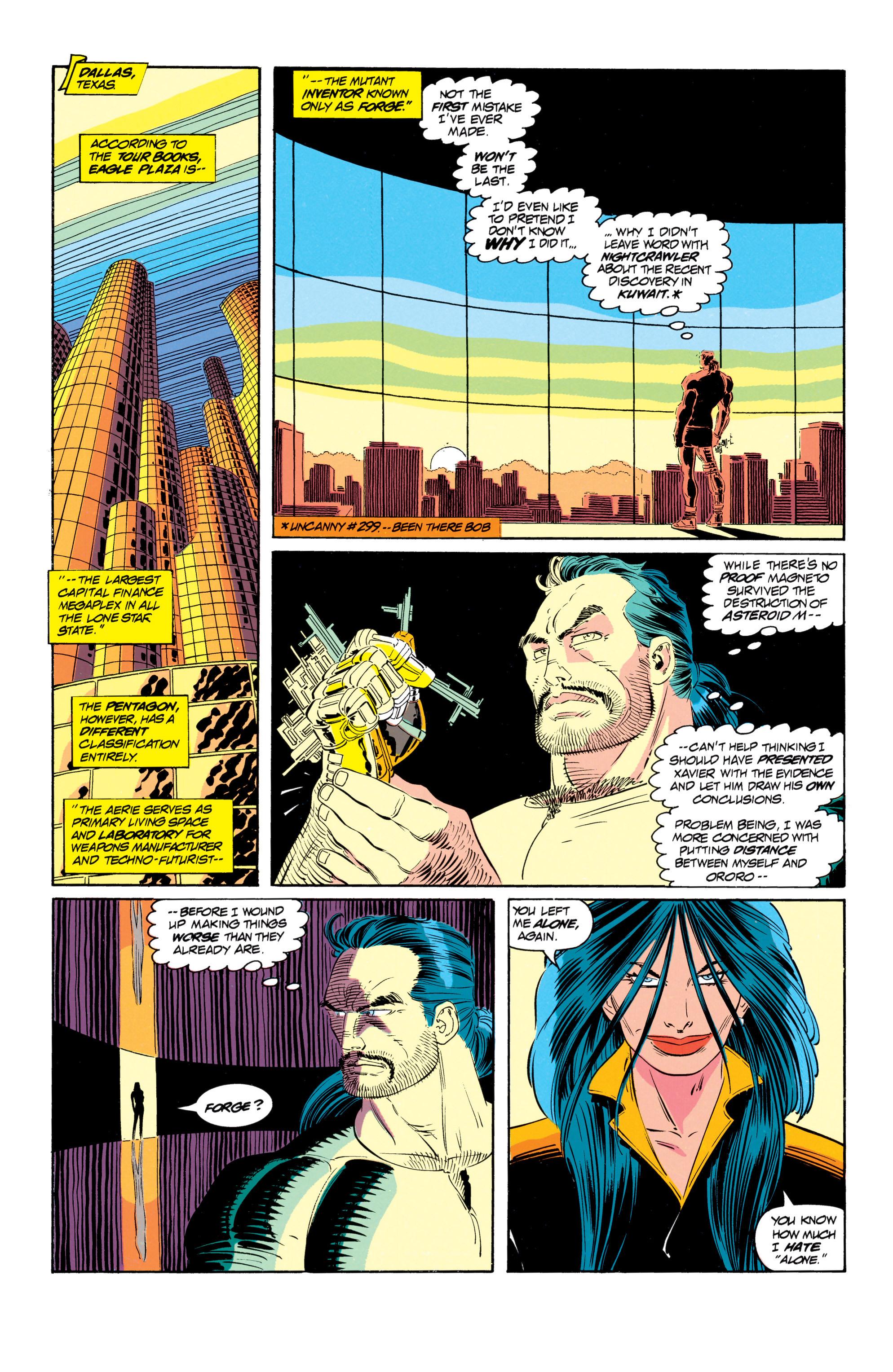Read online Uncanny X-Men (1963) comic -  Issue #301 - 10