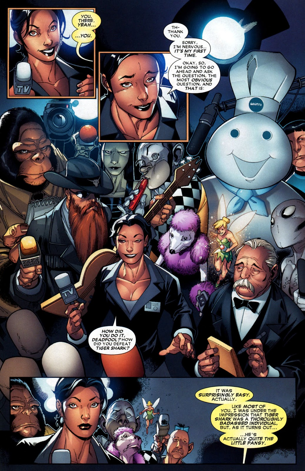 Read online Deadpool (2008) comic -  Issue #6 - 3