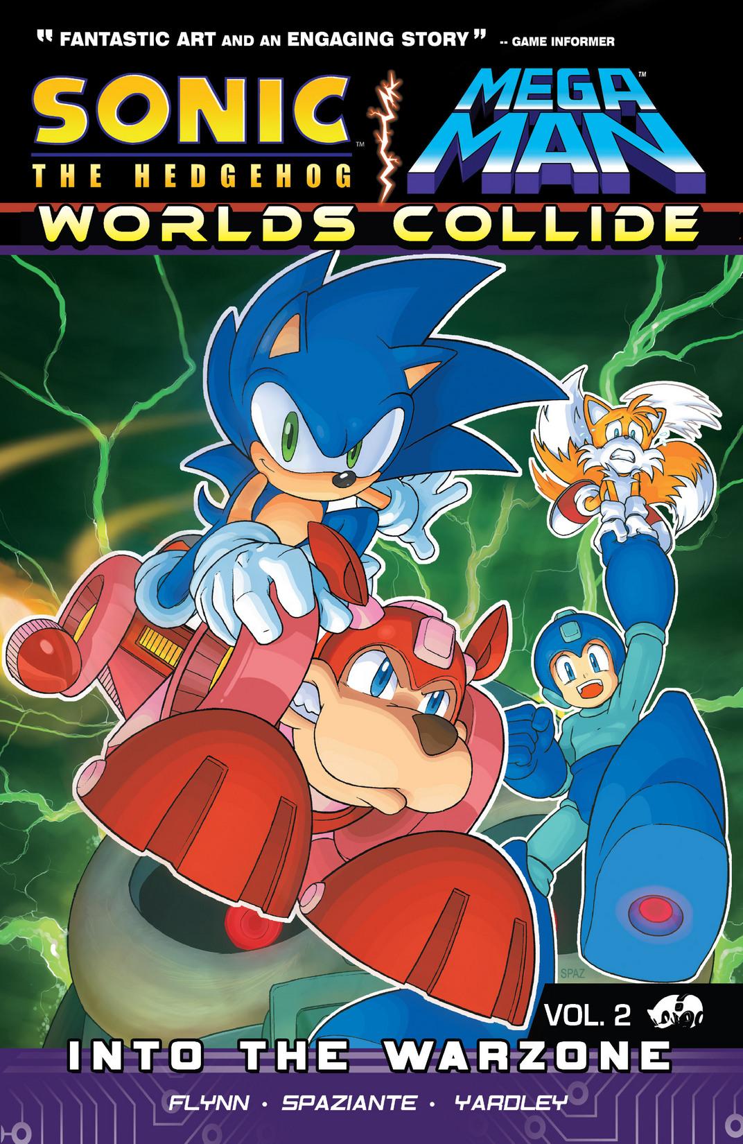 Read online Sonic Mega Man Worlds Collide comic -  Issue # Vol 2 - 1