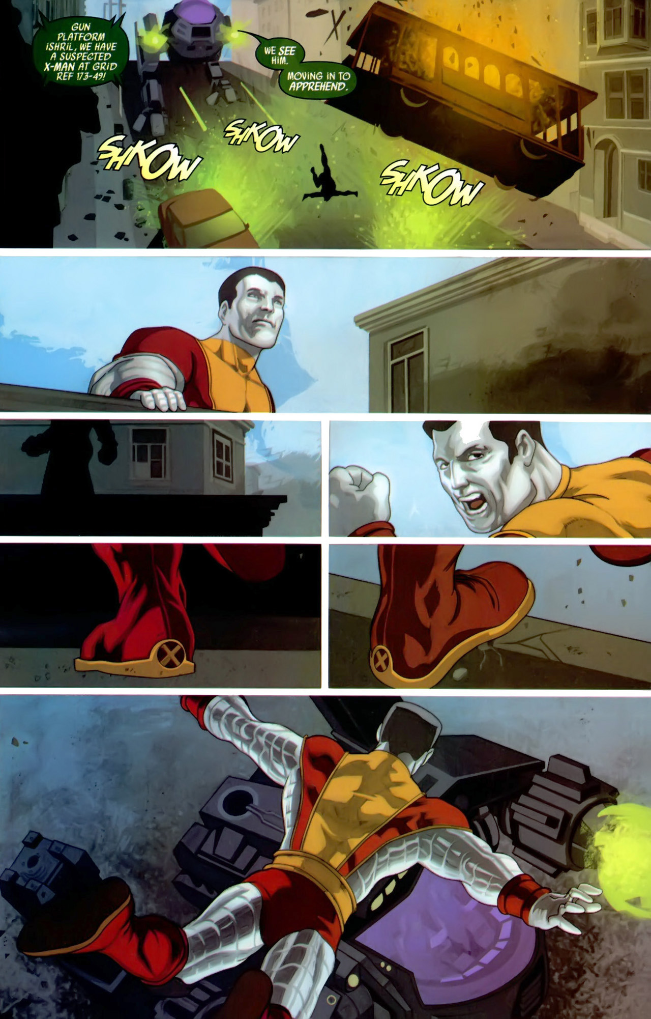 Read online Secret Invasion: X-Men comic -  Issue #3 - 16