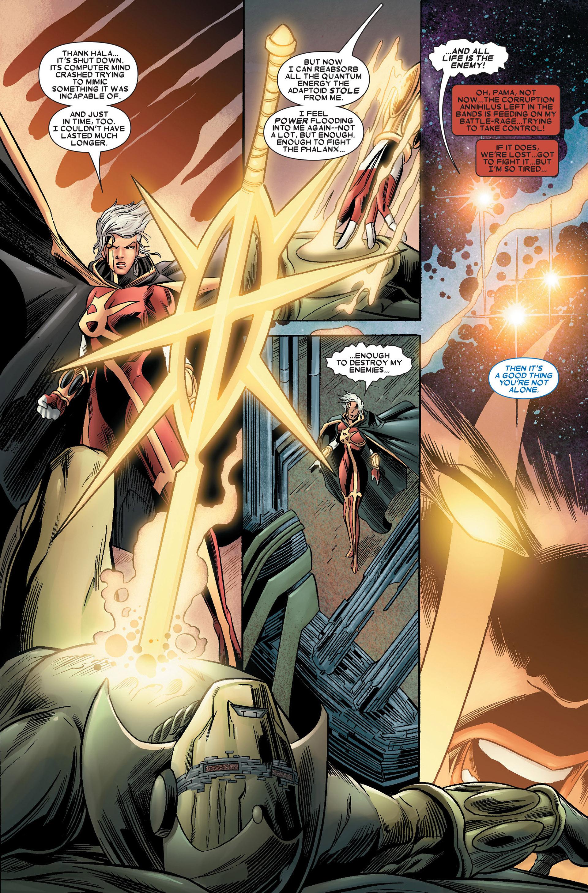Read online Annihilation: Conquest - Quasar comic -  Issue #4 - 14