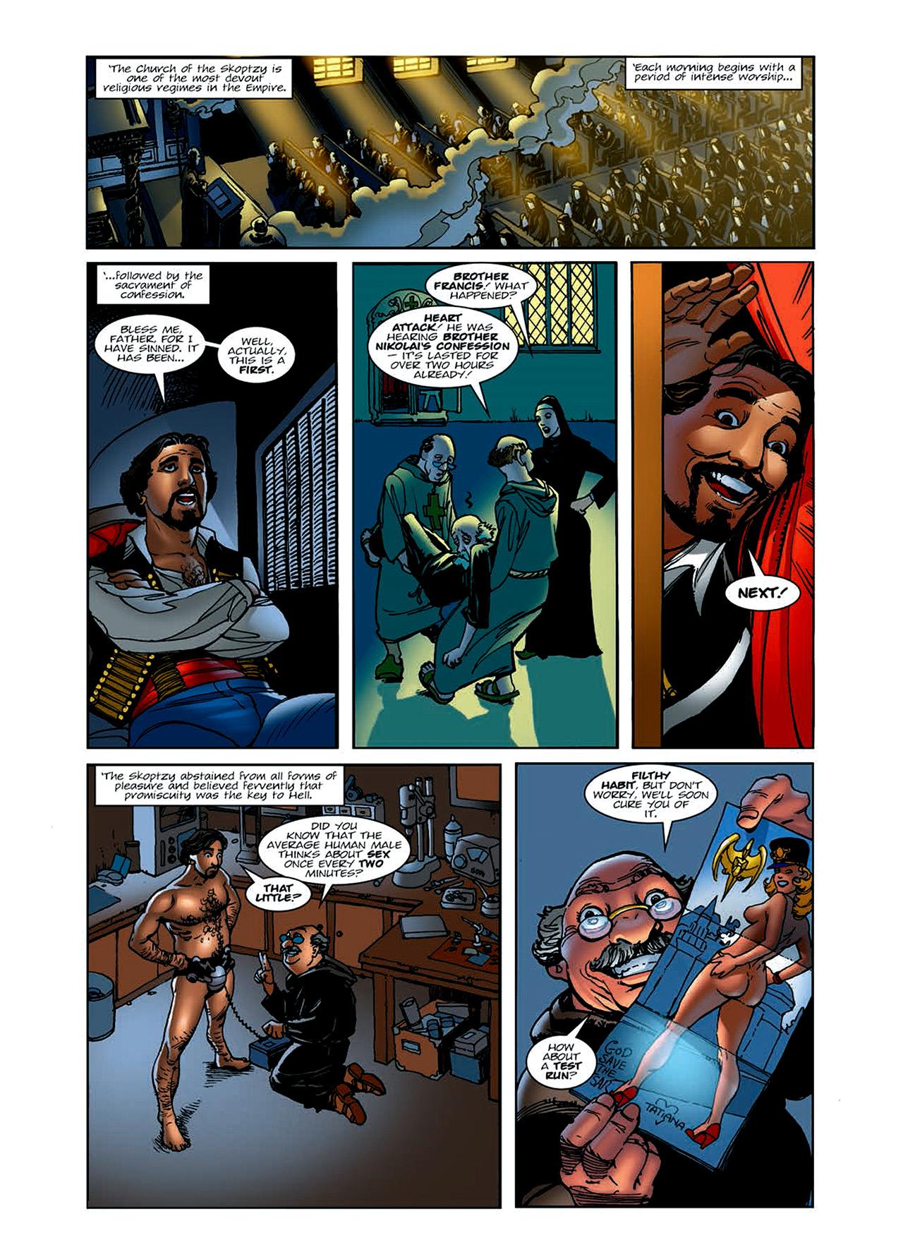 Read online Nikolai Dante comic -  Issue # TPB 6 - 21