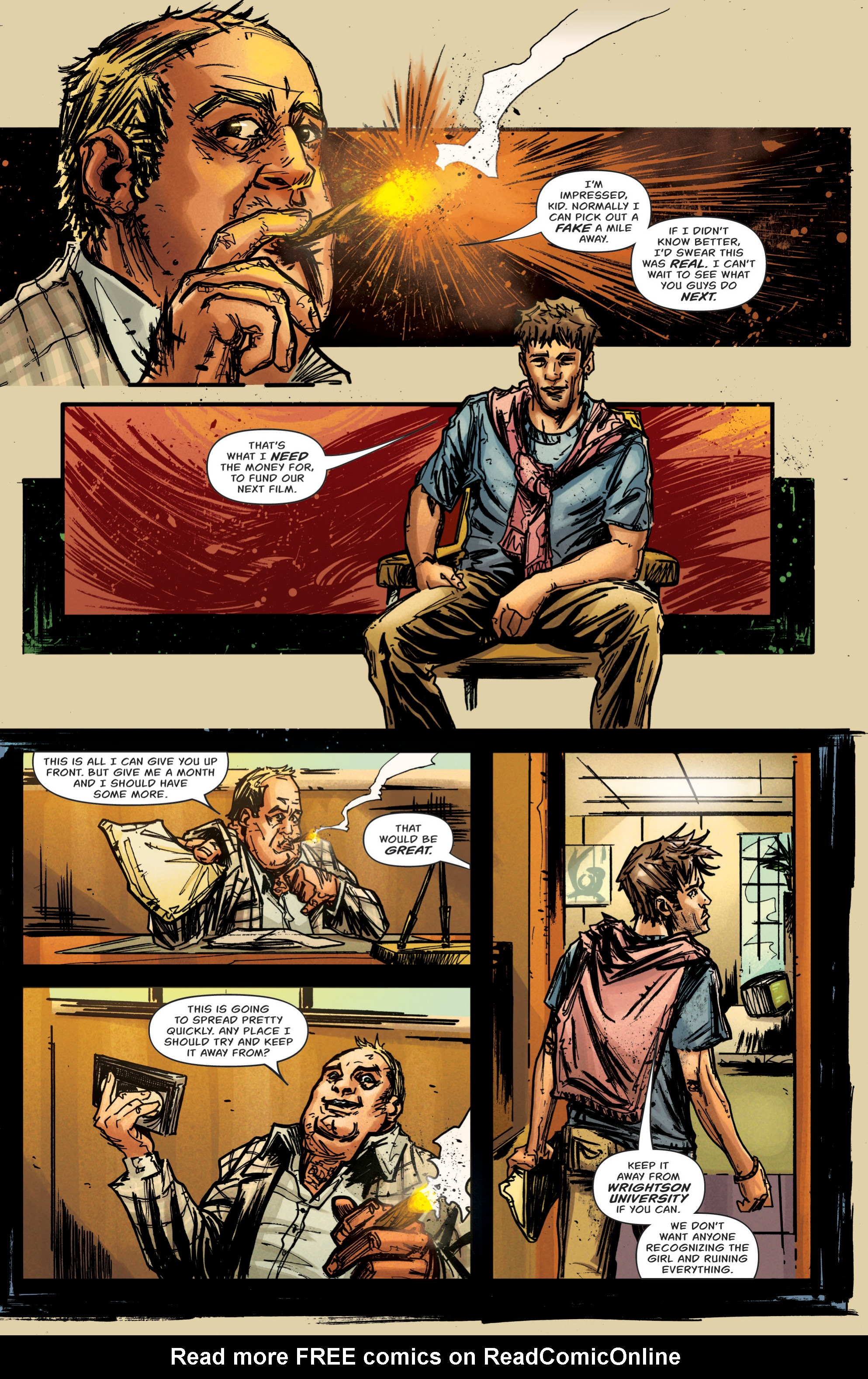 Read online Grimm Tales of Terror: Vol. 3 comic -  Issue #5 - 10
