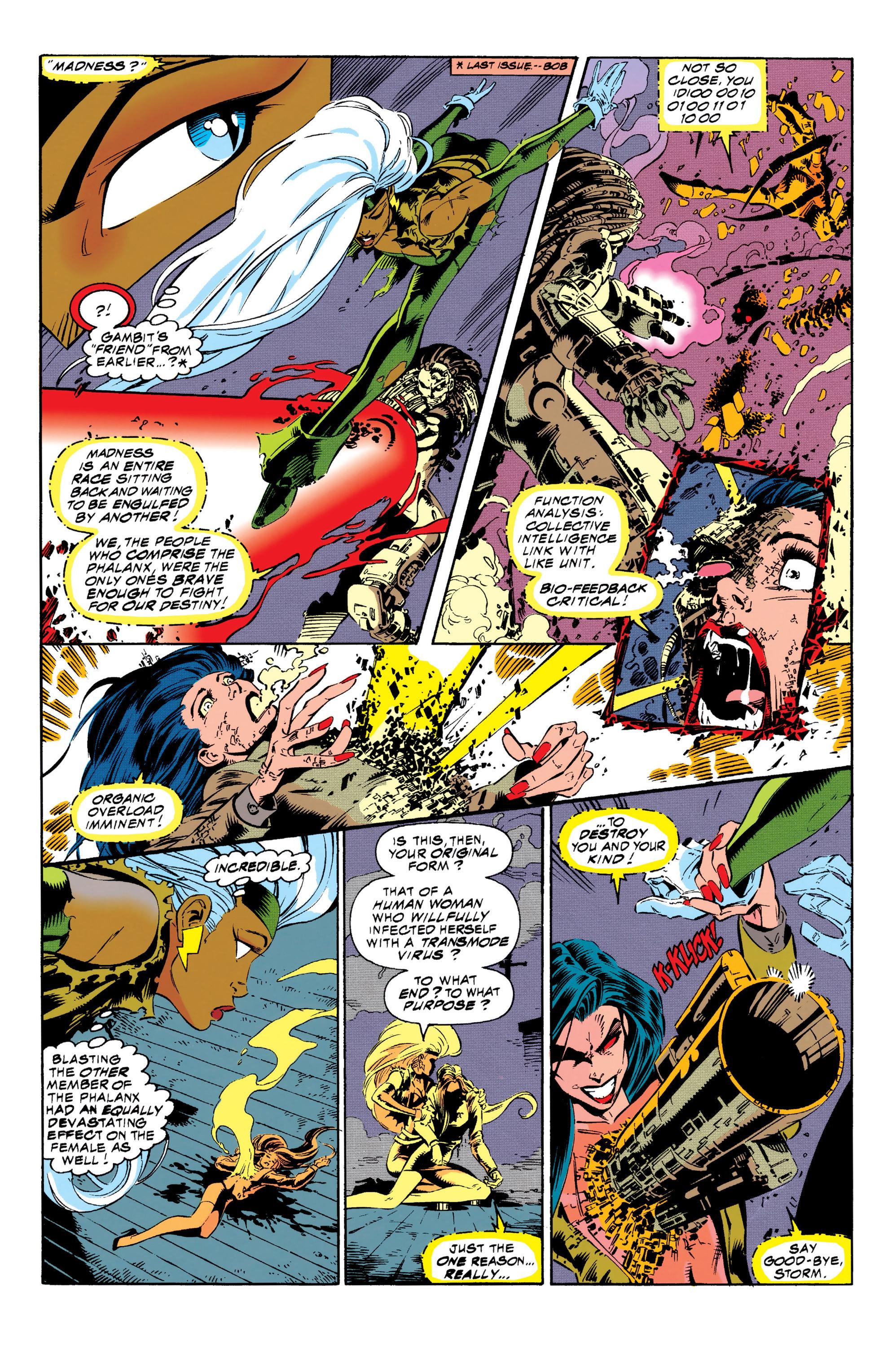 Read online Uncanny X-Men (1963) comic -  Issue #313 - 11