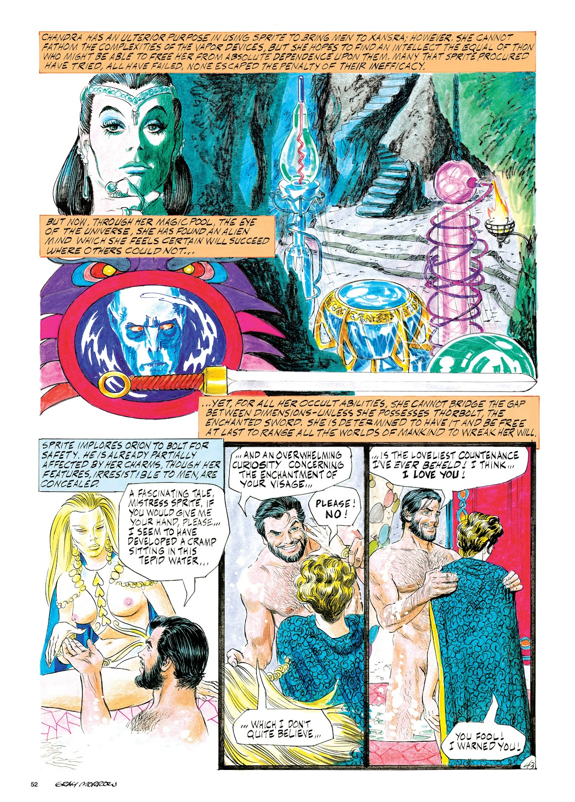 Read online Orion and Edge of Chaos comic -  Issue # TPB - 53