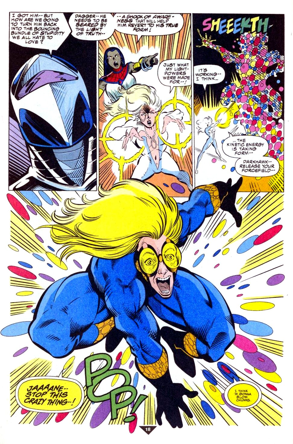 The New Warriors Issue #50 #54 - English 15