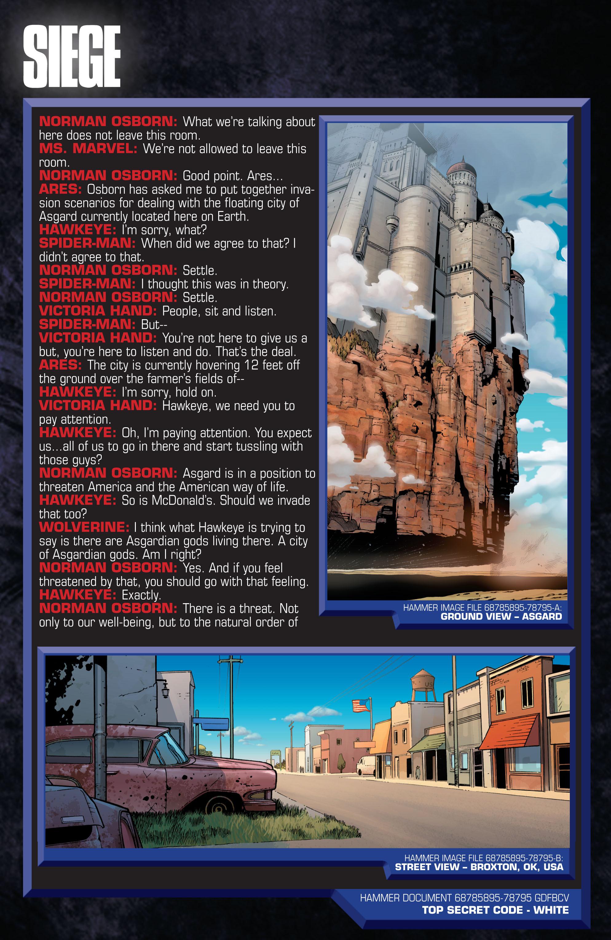 Read online Siege (2010) comic -  Issue #1 - 29