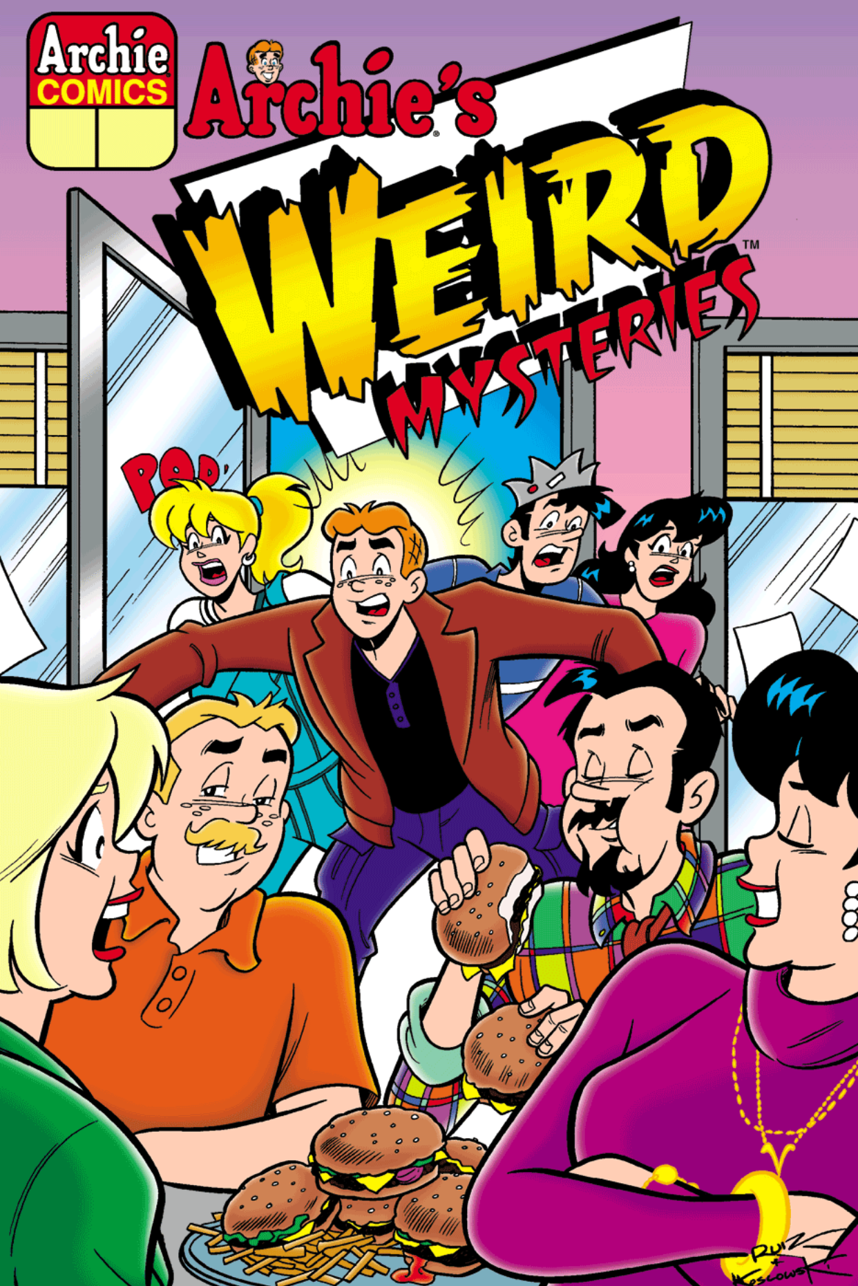 Read online Archie's Weird Mysteries comic -  Issue #5 - 1