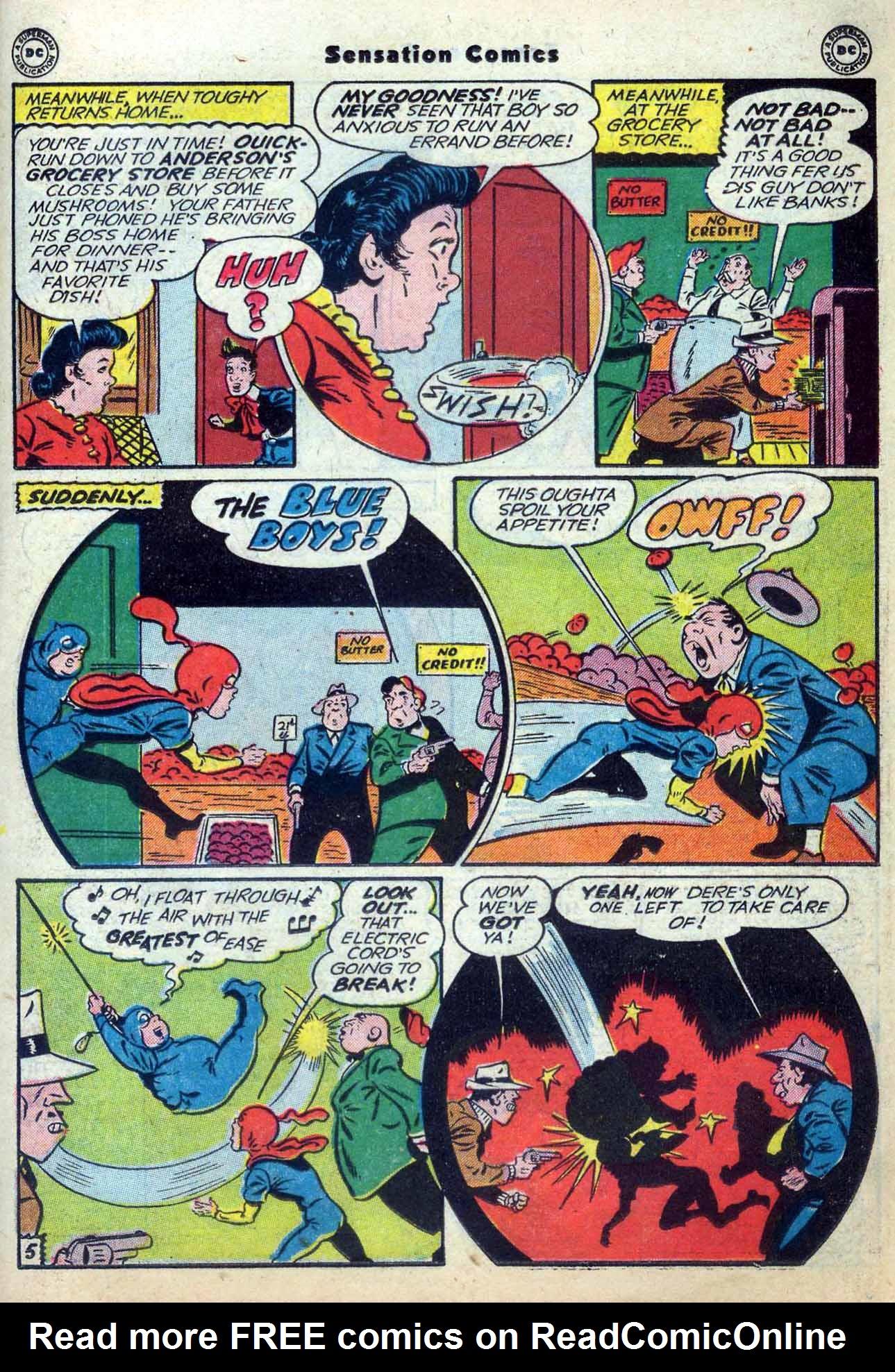 Read online Sensation (Mystery) Comics comic -  Issue #59 - 21