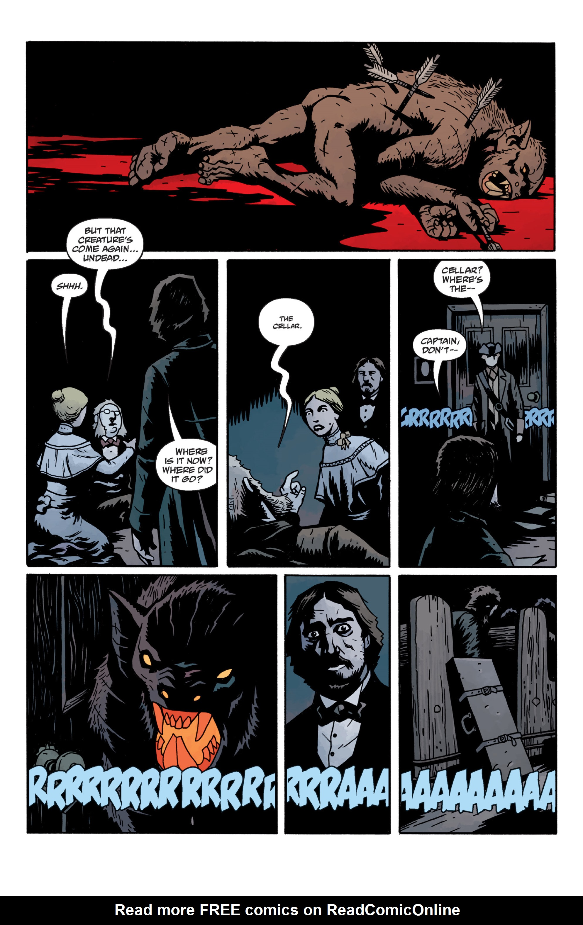 Read online Sir Edward Grey, Witchfinder: In the Service of Angels comic -  Issue # TPB - 77