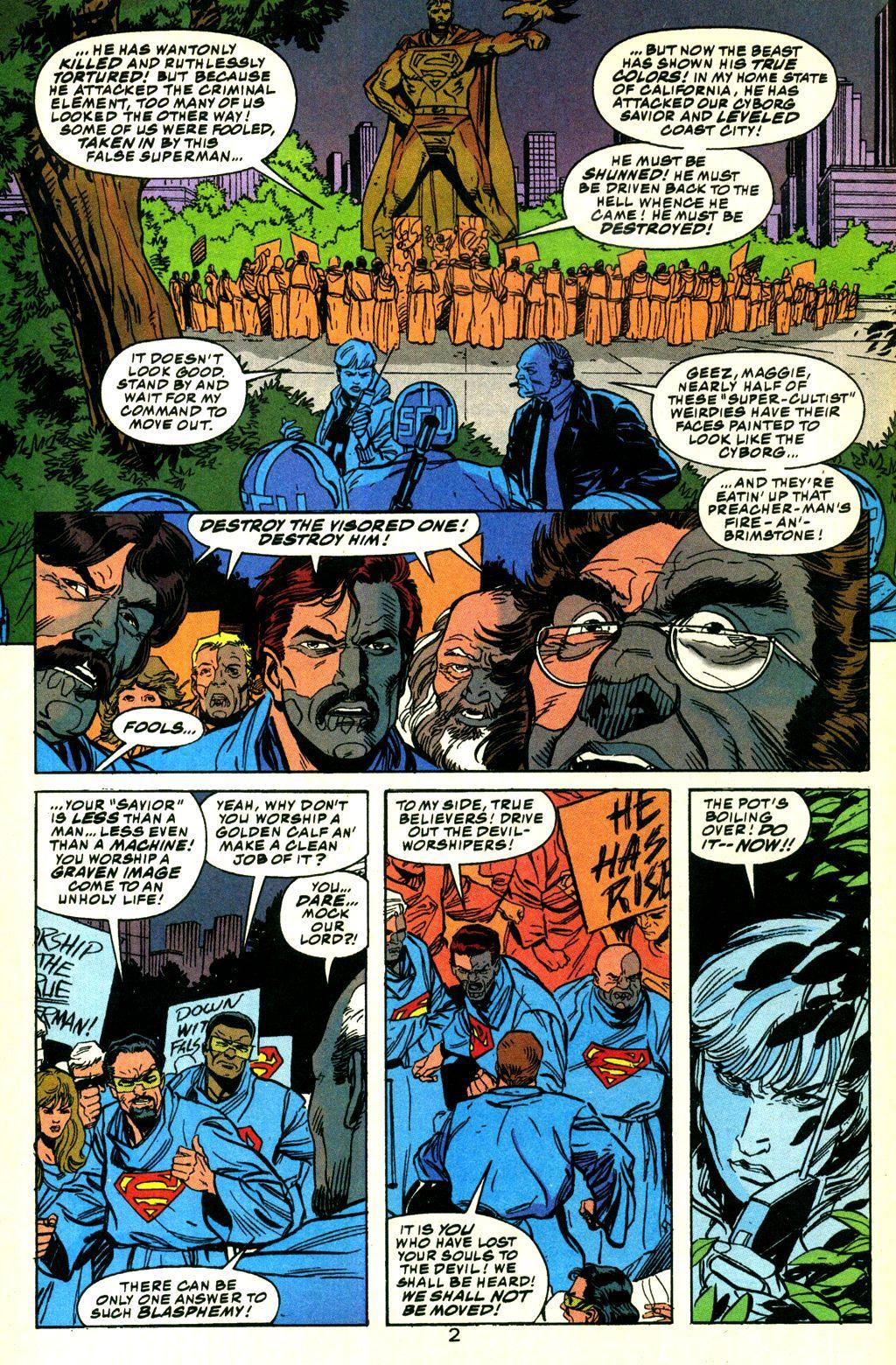 Action Comics (1938) 690 Page 2