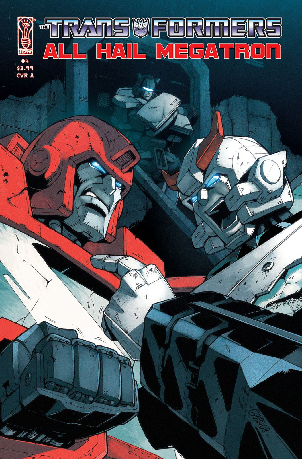 The Transformers: All Hail Megatron issue 4 - Page 1