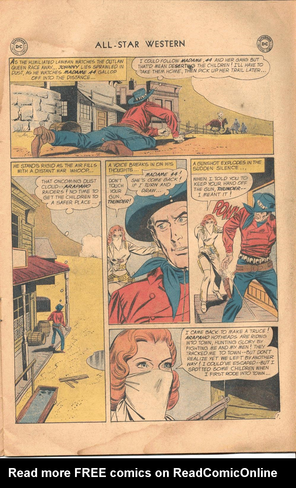 Read online All-Star Western (1951) comic -  Issue #117 - 10