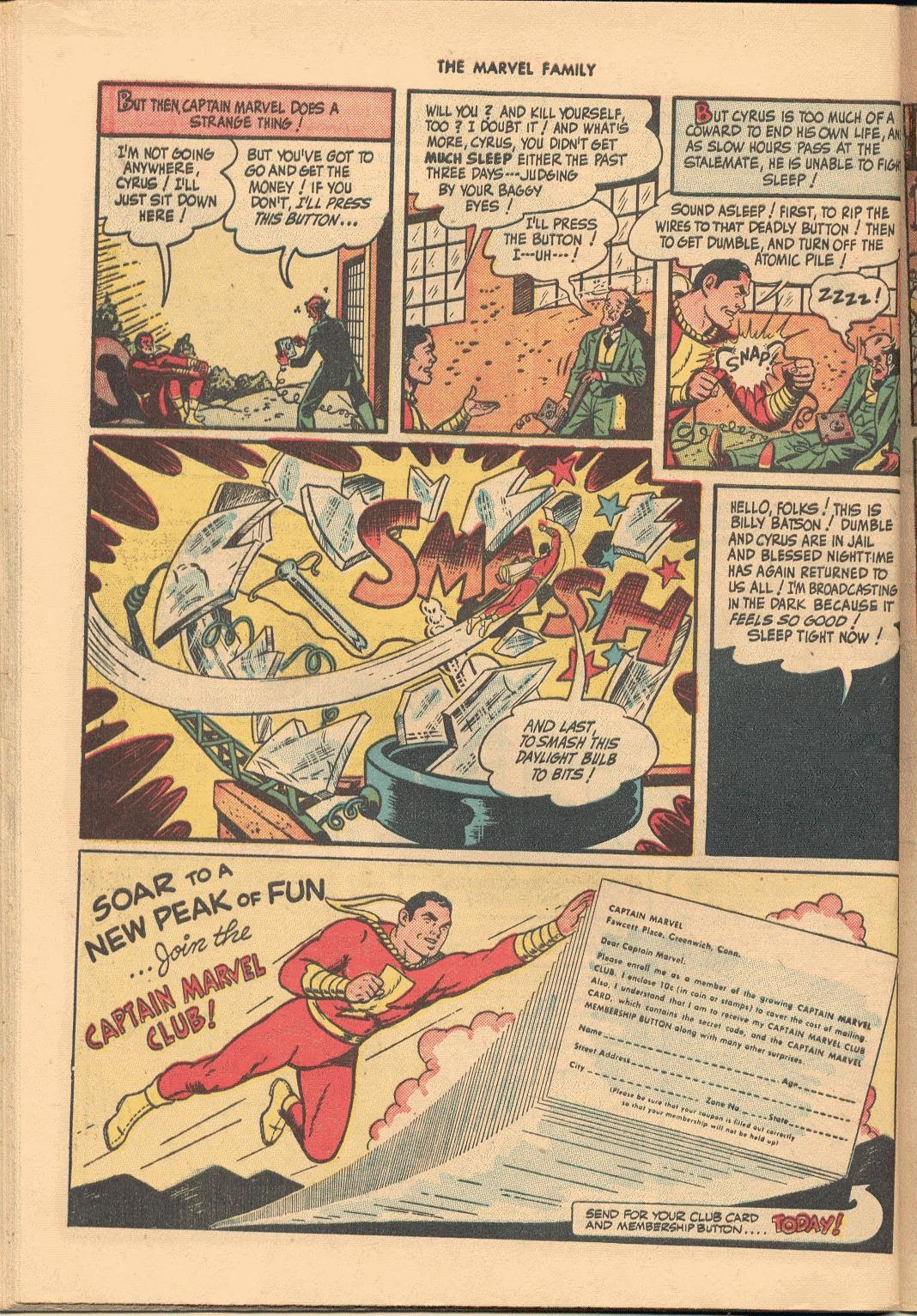 The Marvel Family issue 38 - Page 48