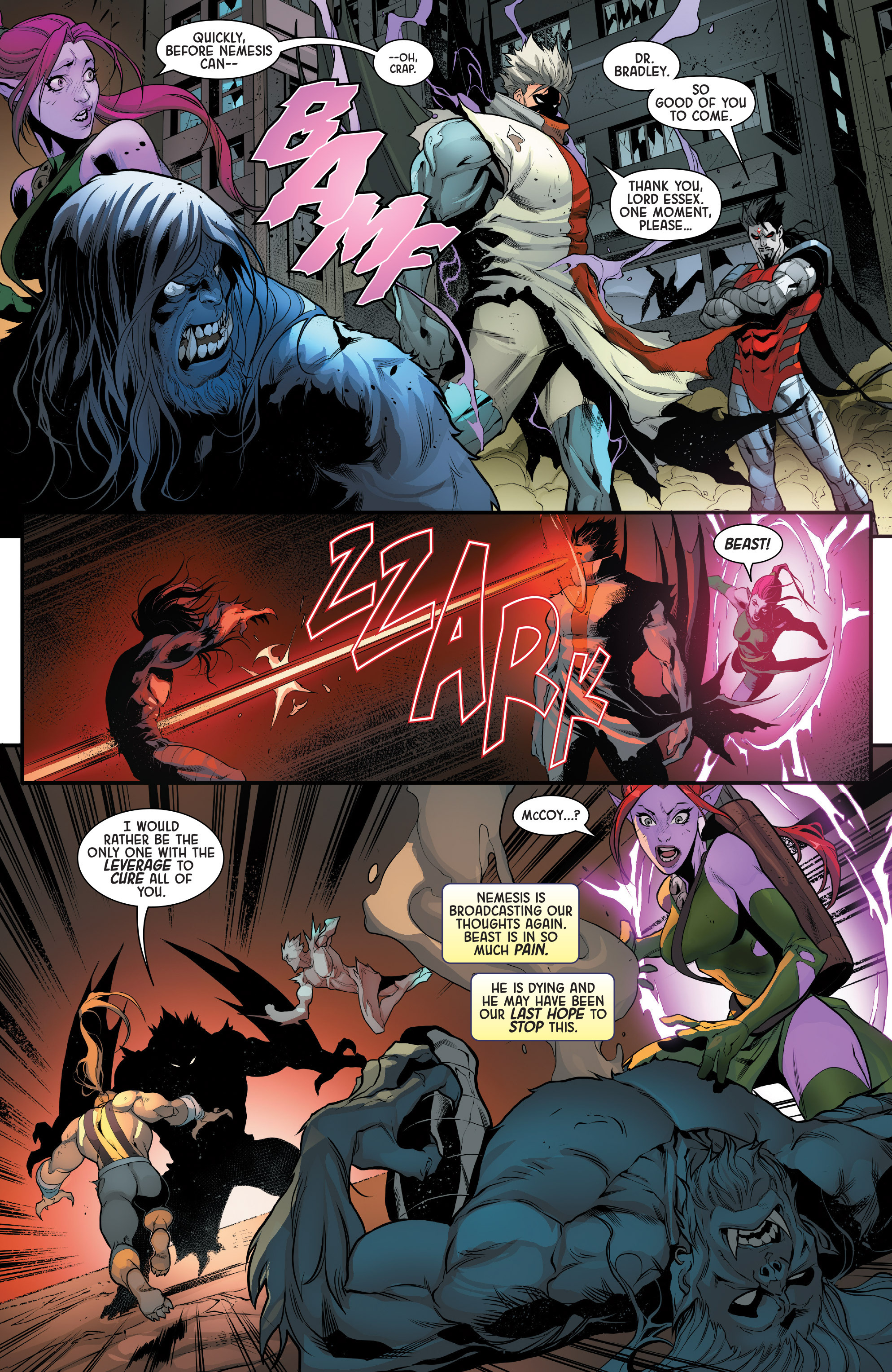 Read online Age of Apocalypse (2015) comic -  Issue #5 - 7