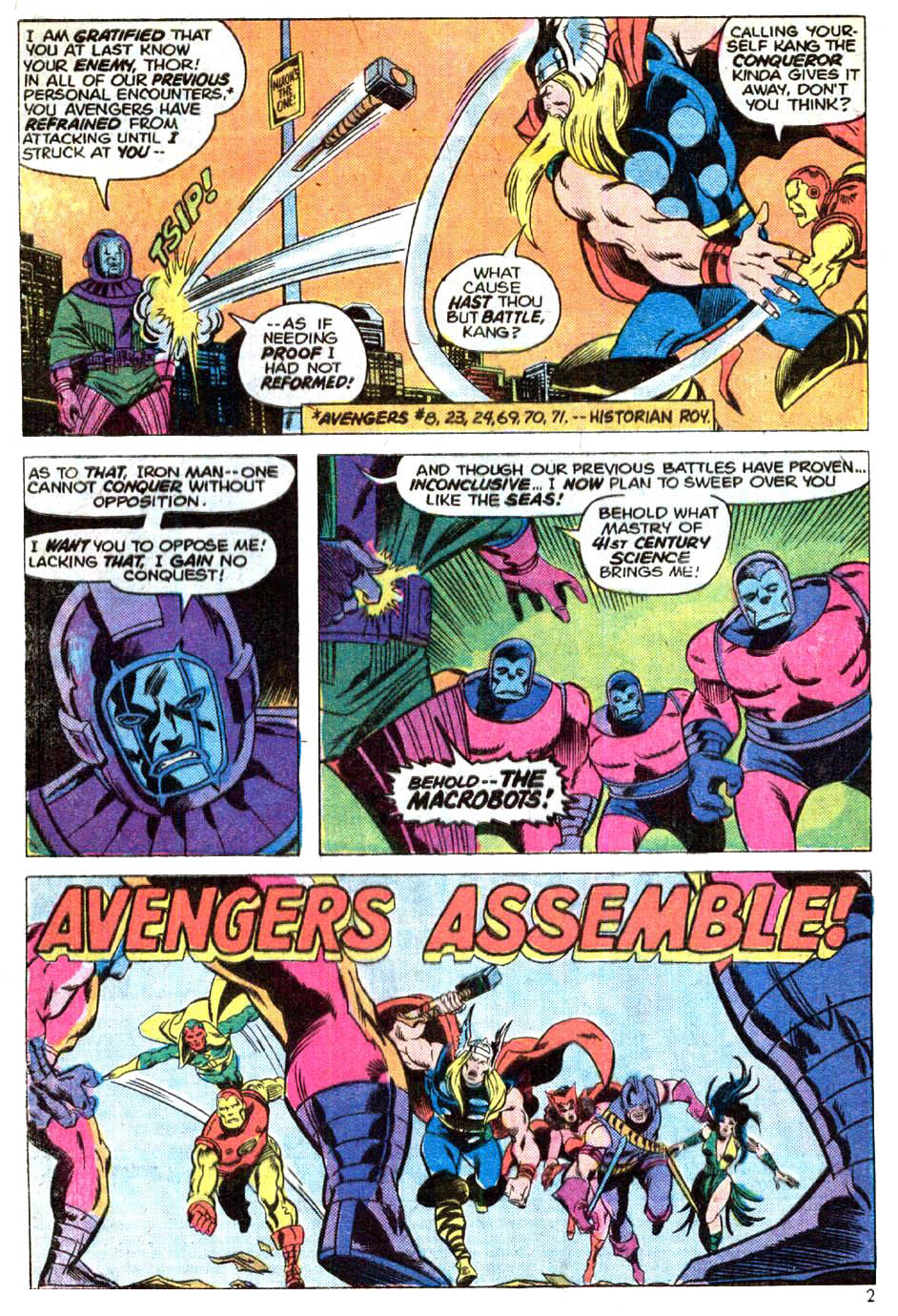 The Avengers (1963) 129 Page 2