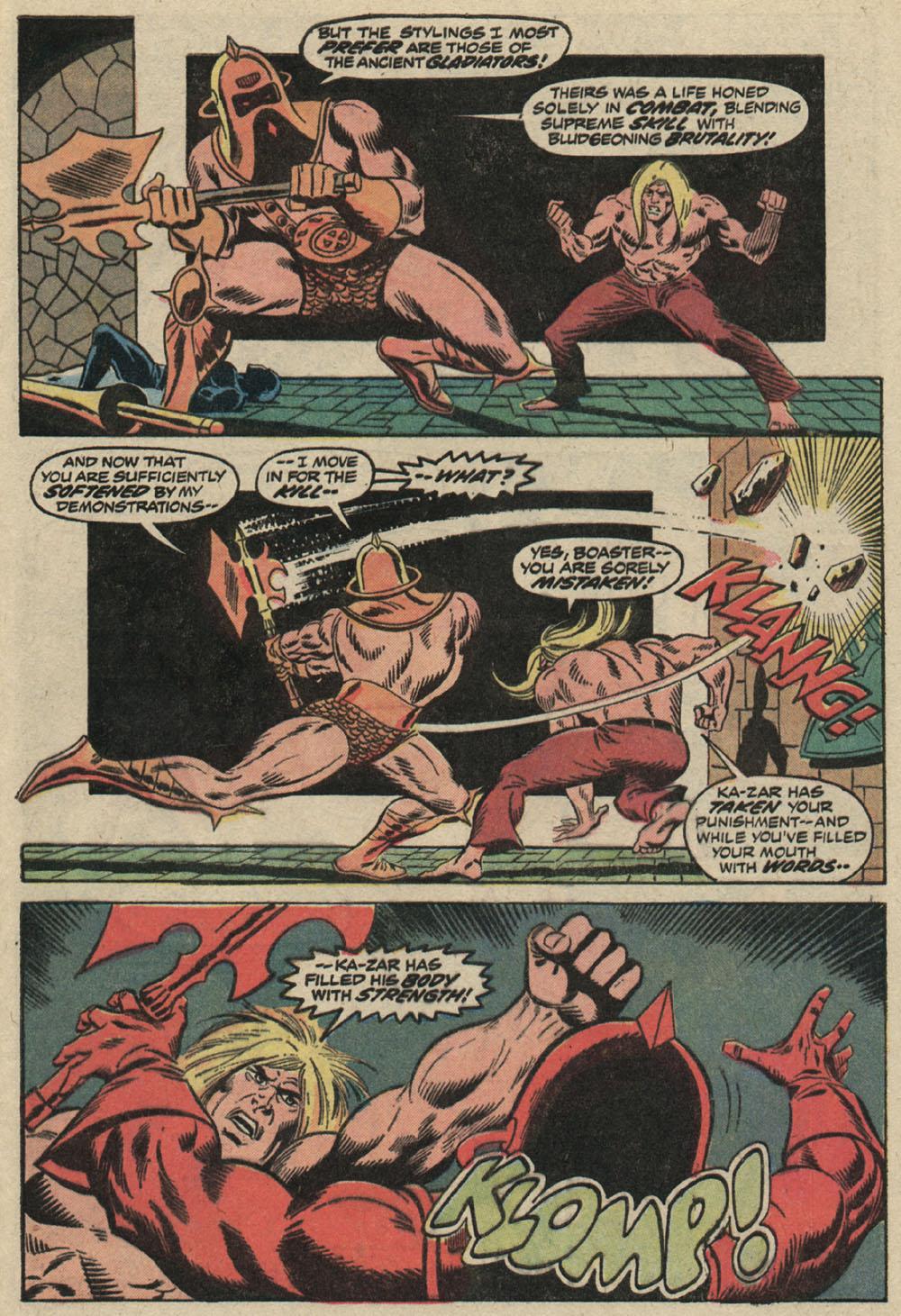 Read online Astonishing Tales (1970) comic -  Issue #19 - 19