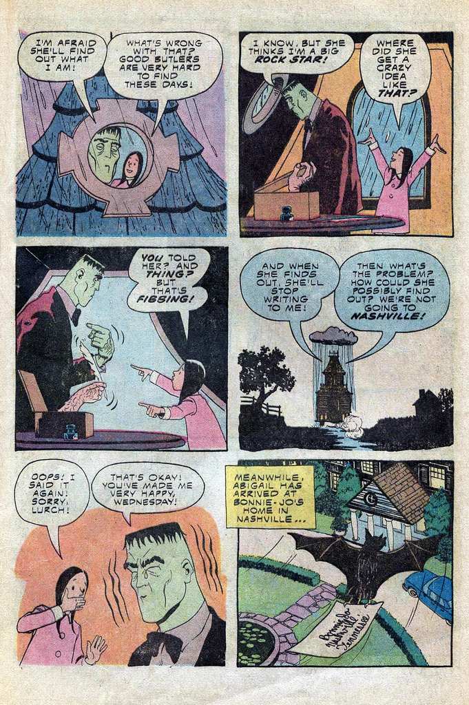 Read online Addams Family comic -  Issue #3 - 32