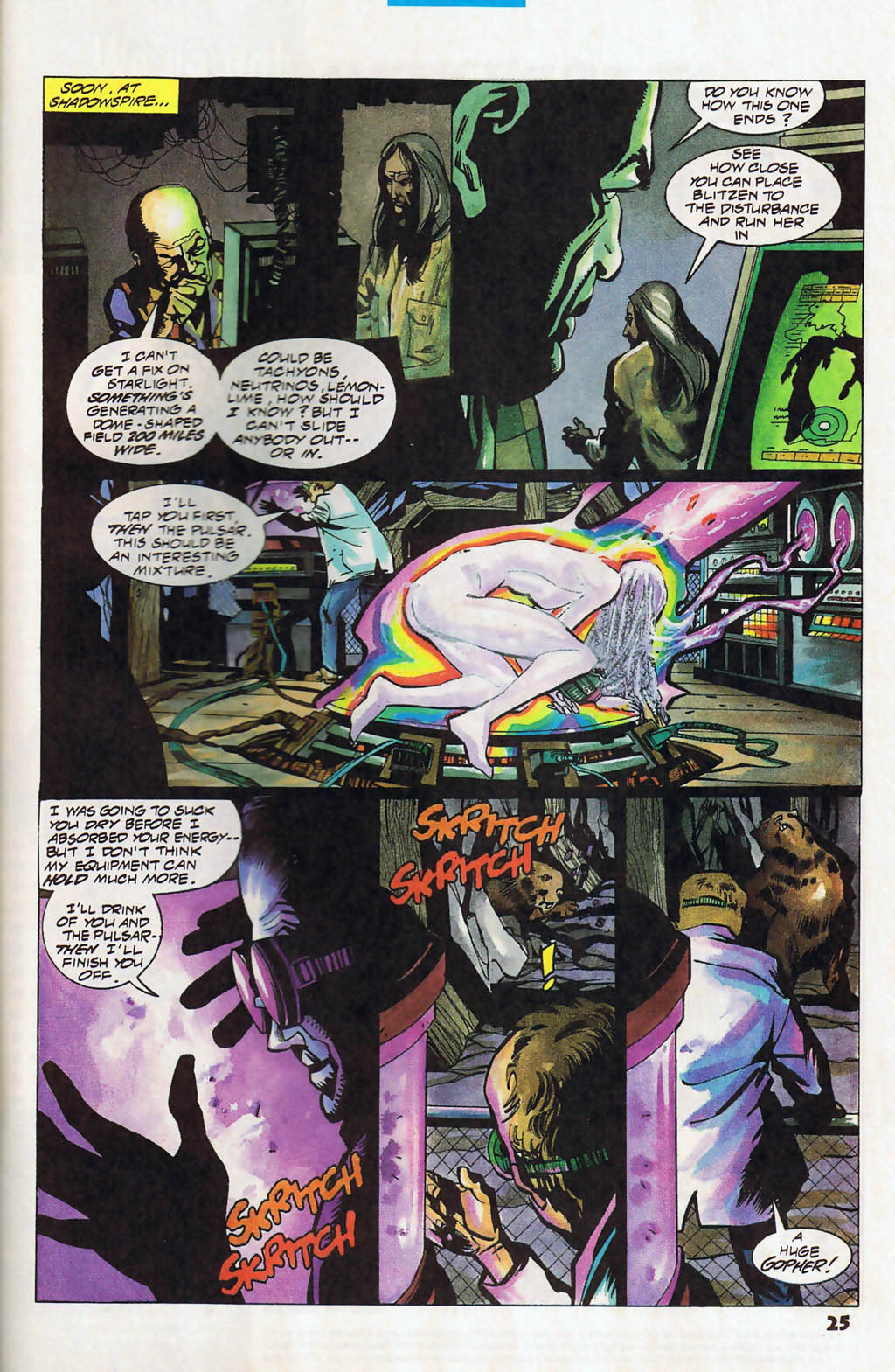 Read online Shadow Cabinet comic -  Issue #13 - 19